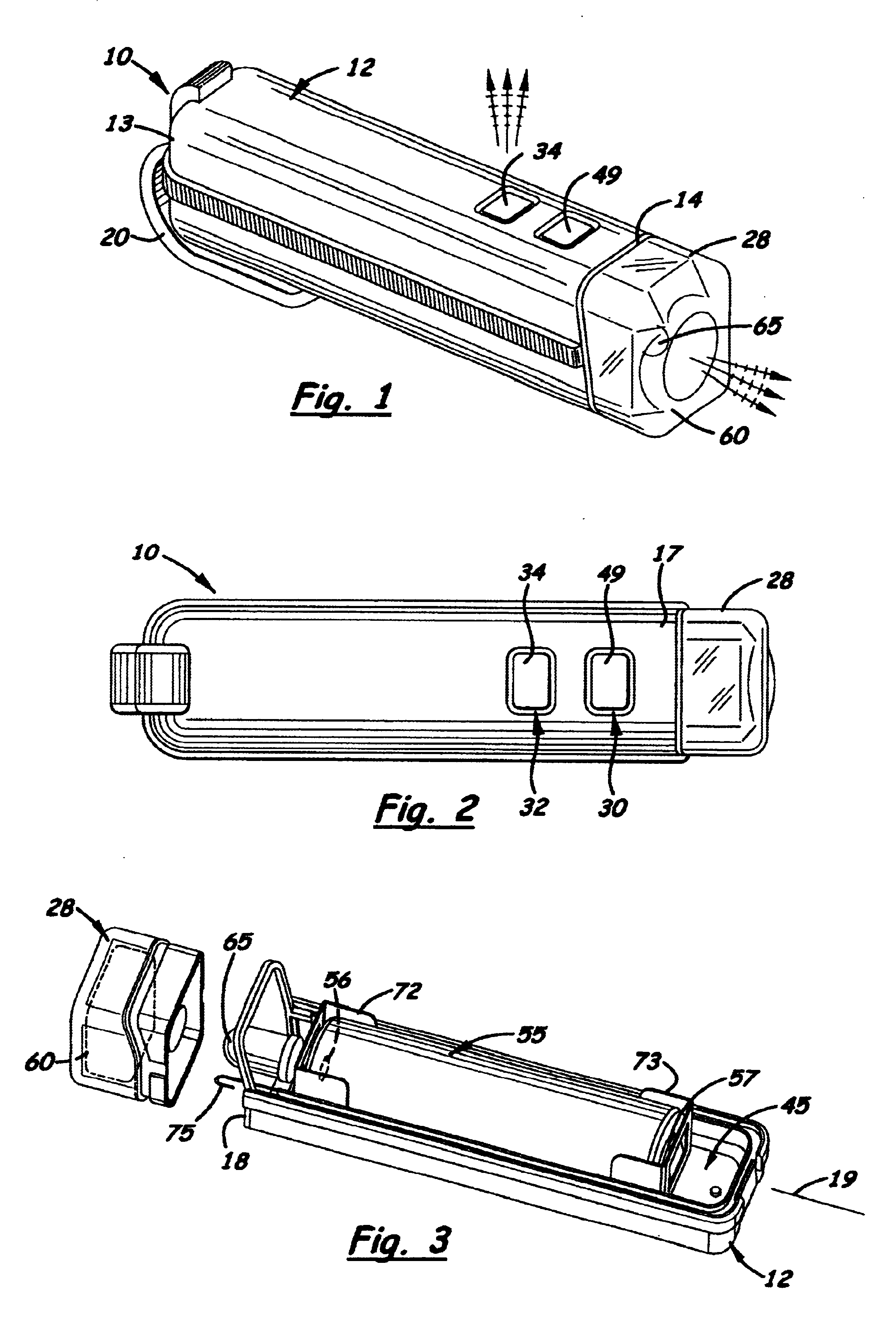 patent us6924605 - combination voltage detector and led flashlight
