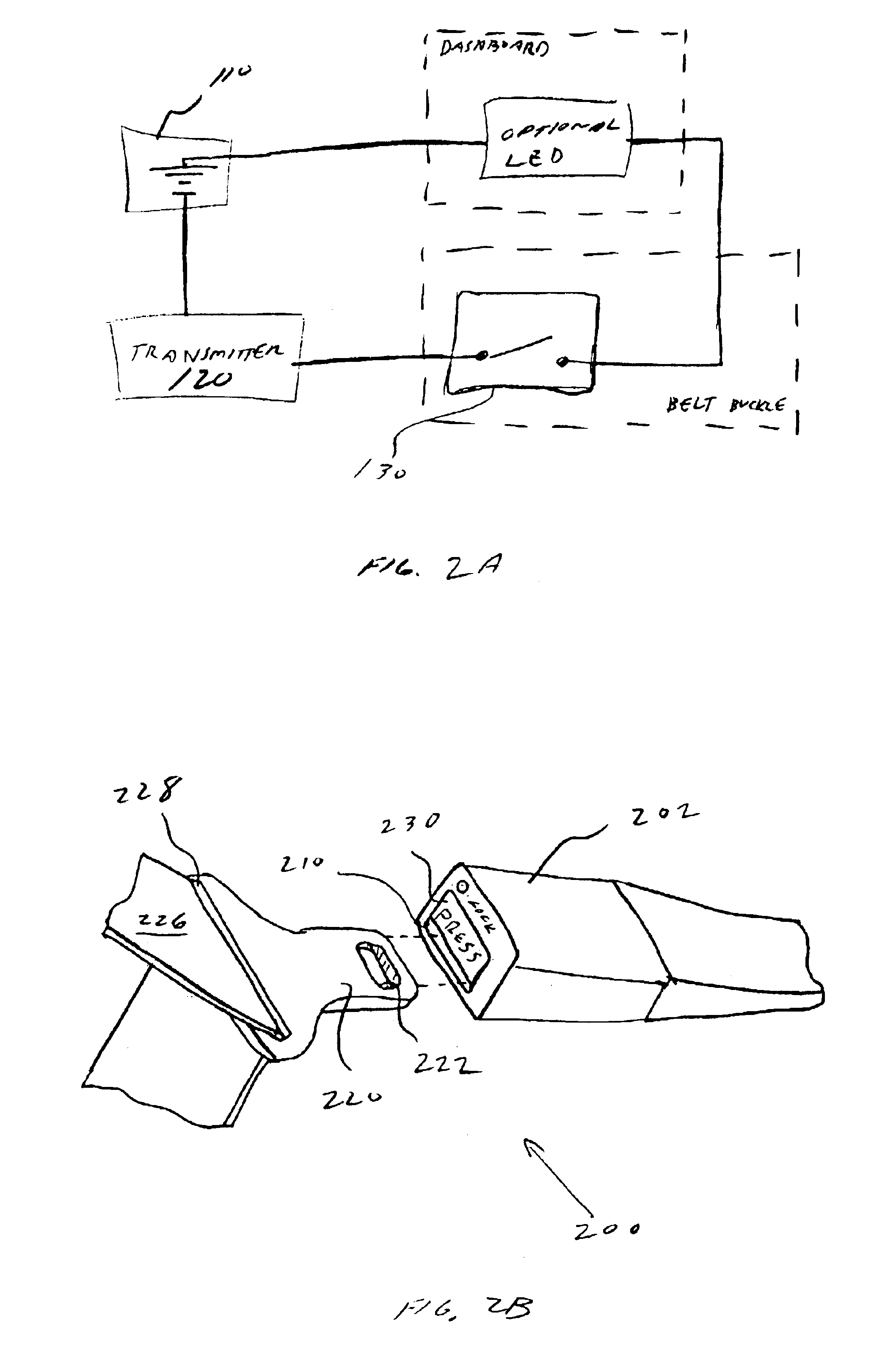 US06924742 20050802 D00002 patent us6924742 baby seat belt alarm system google patents  at soozxer.org