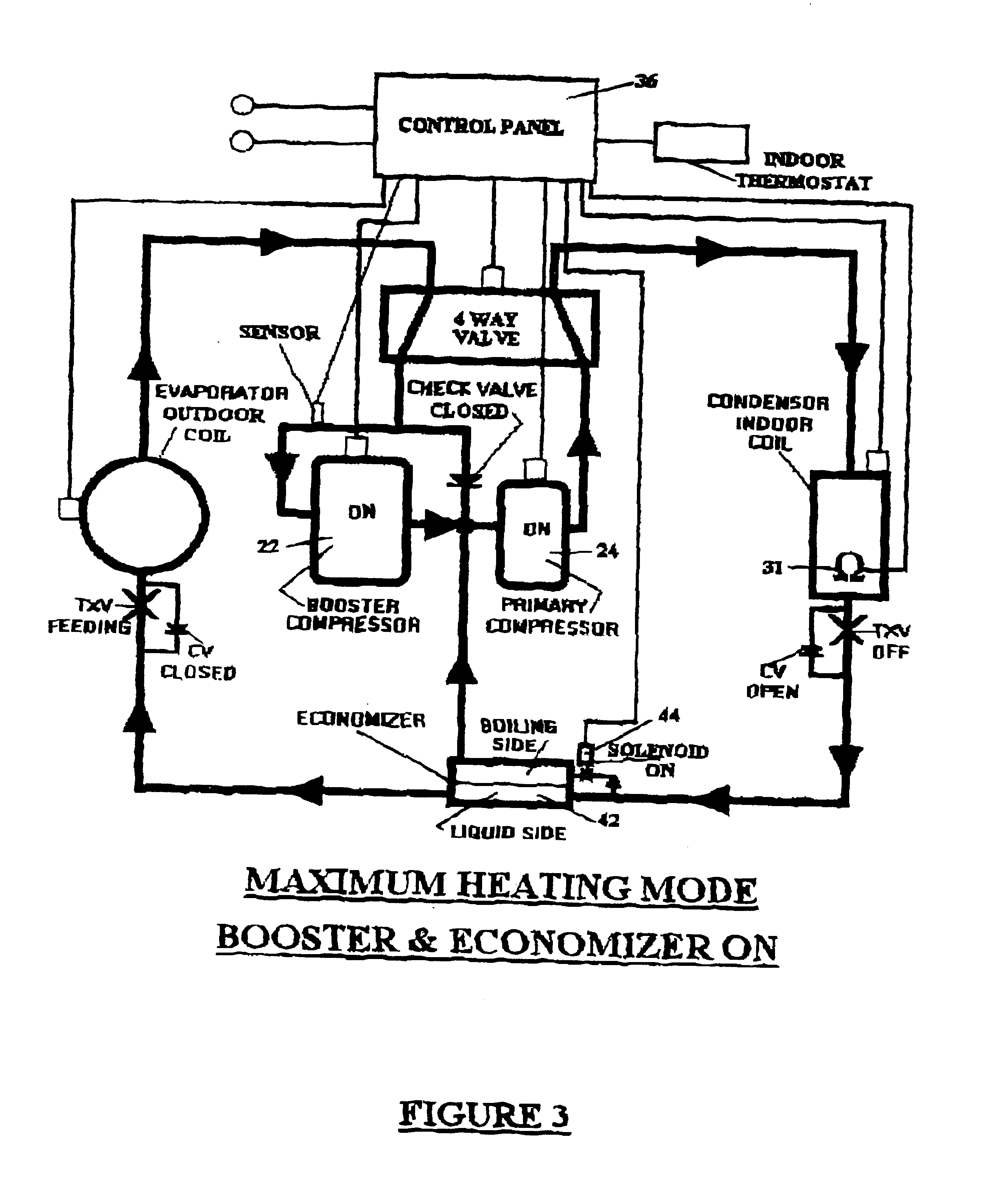 patent us6931871 - boosted air source heat pump