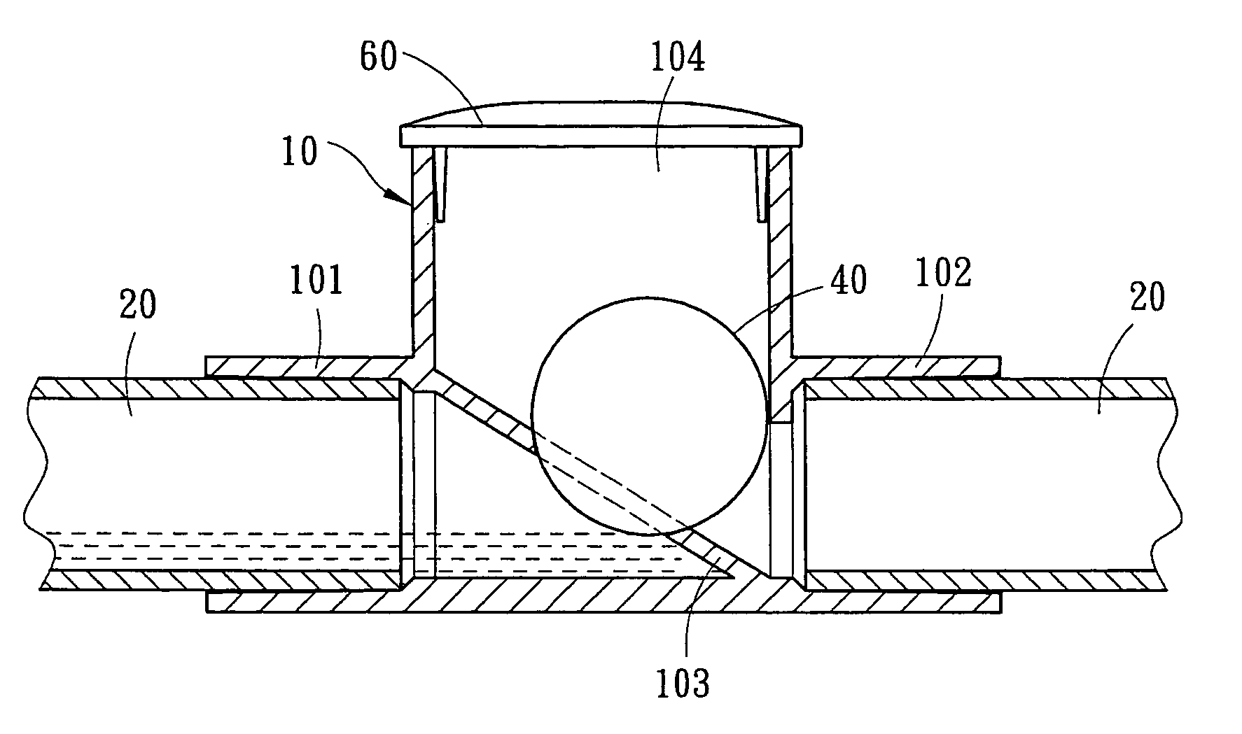 Patent Us6931882 Dual Function Condensate Drain Trap For
