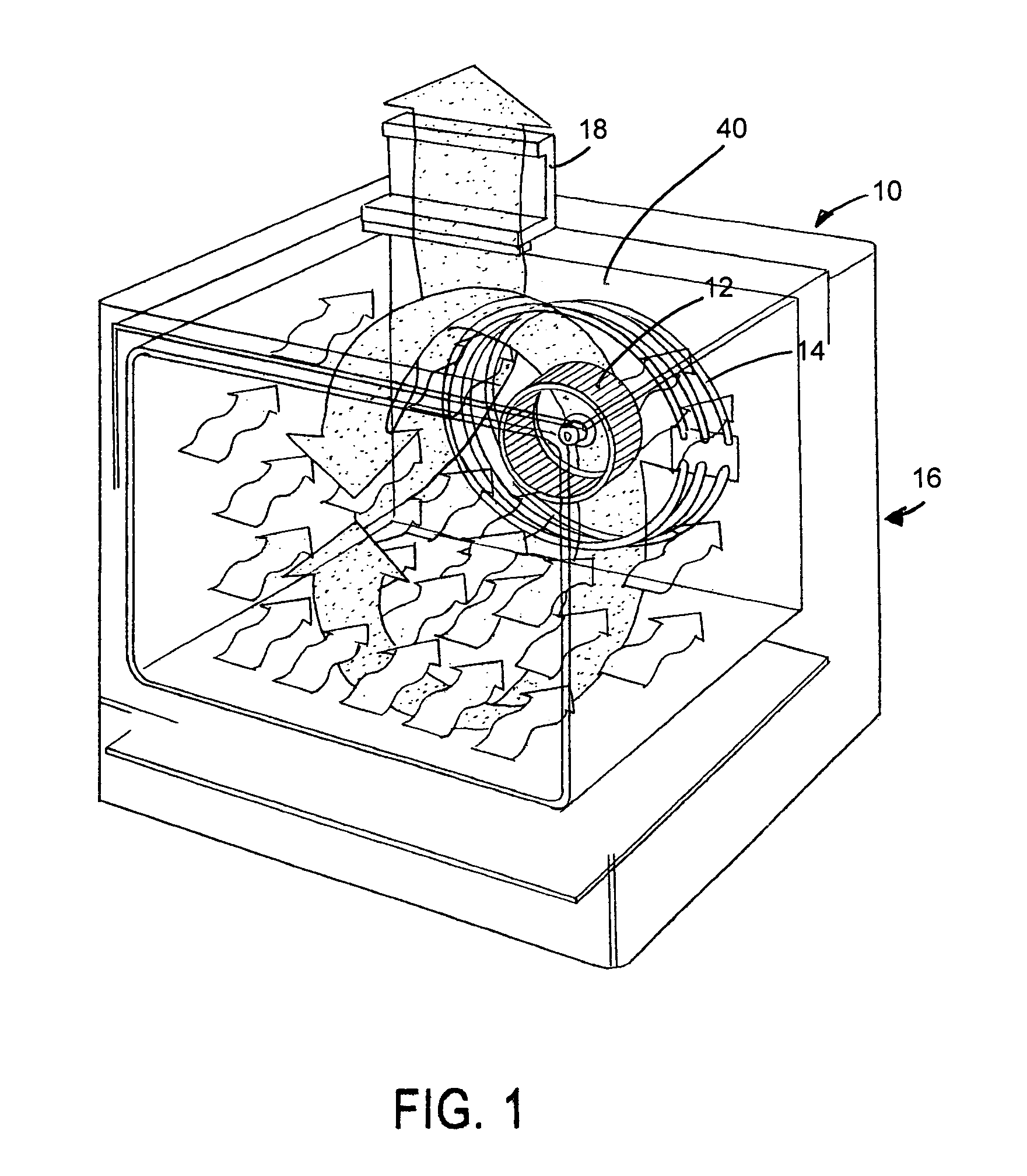 patent us6933472 - electric convection oven
