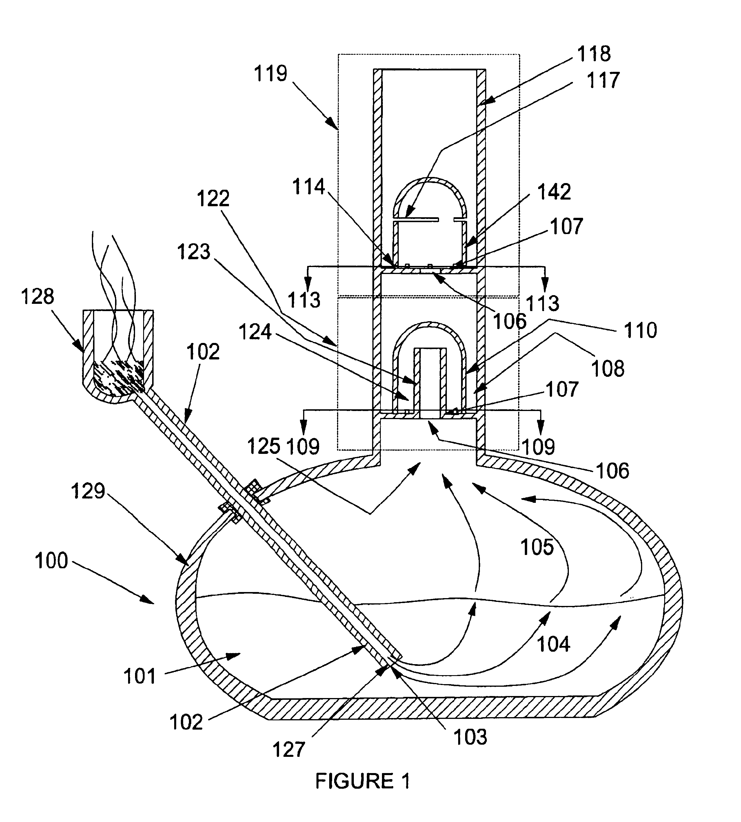 patent us6935345 method for generating small bubbles for a smoke