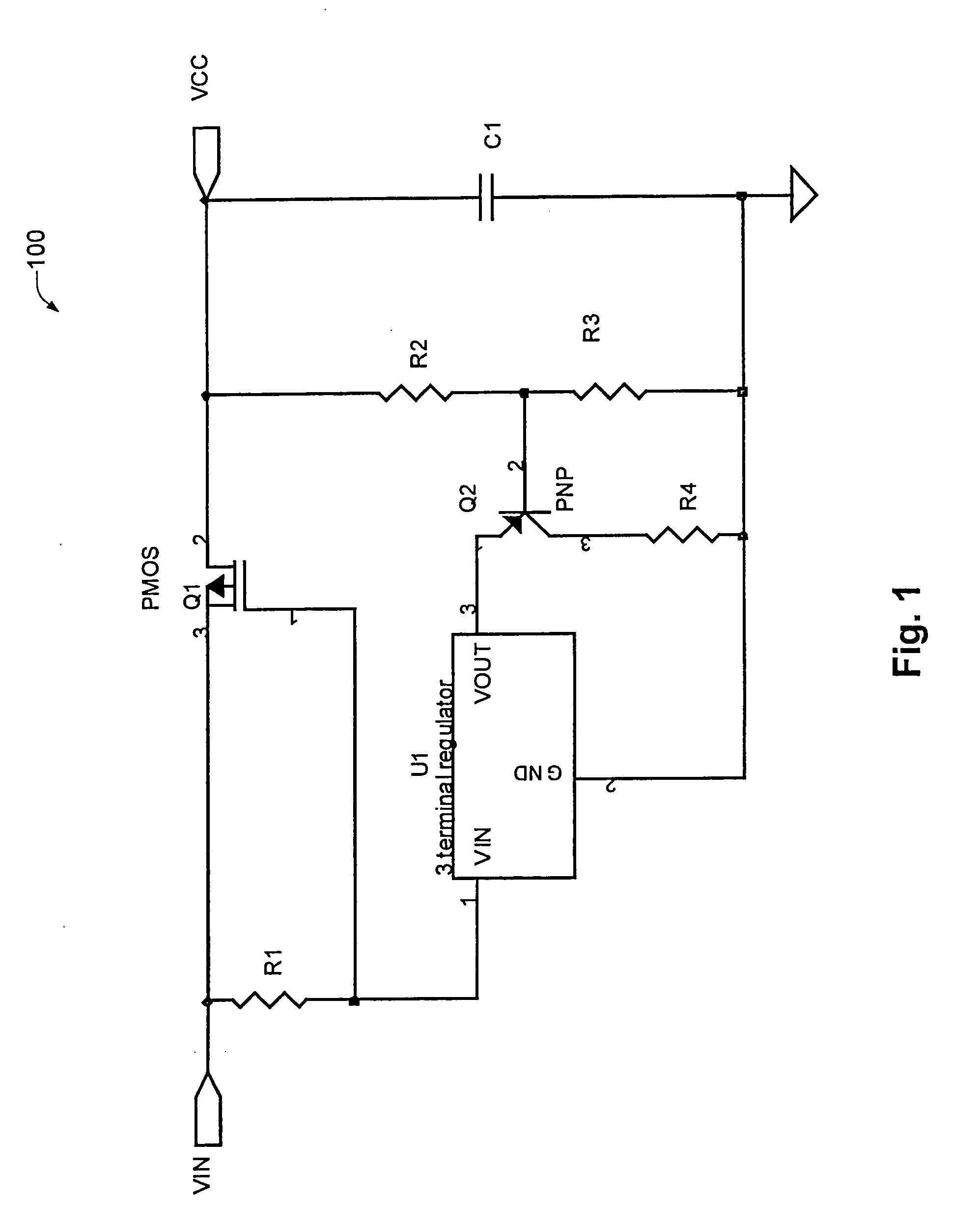 Patent Us6940703 Overvoltage Protection Circuit Google Patents More Mosfet Circuits Voltage Regulators Regulator Drawing