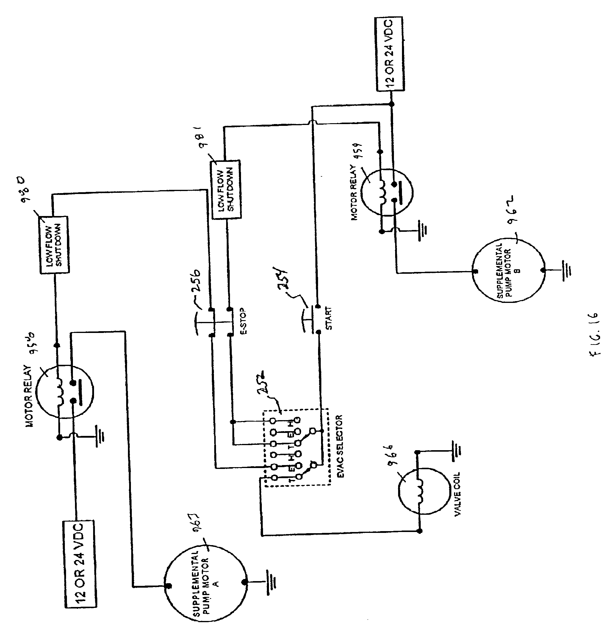 US06941969 20050913 D00013 international motor diagrams ge electric motor wiring diagram 1967 Chevelle Wiring Diagram at soozxer.org