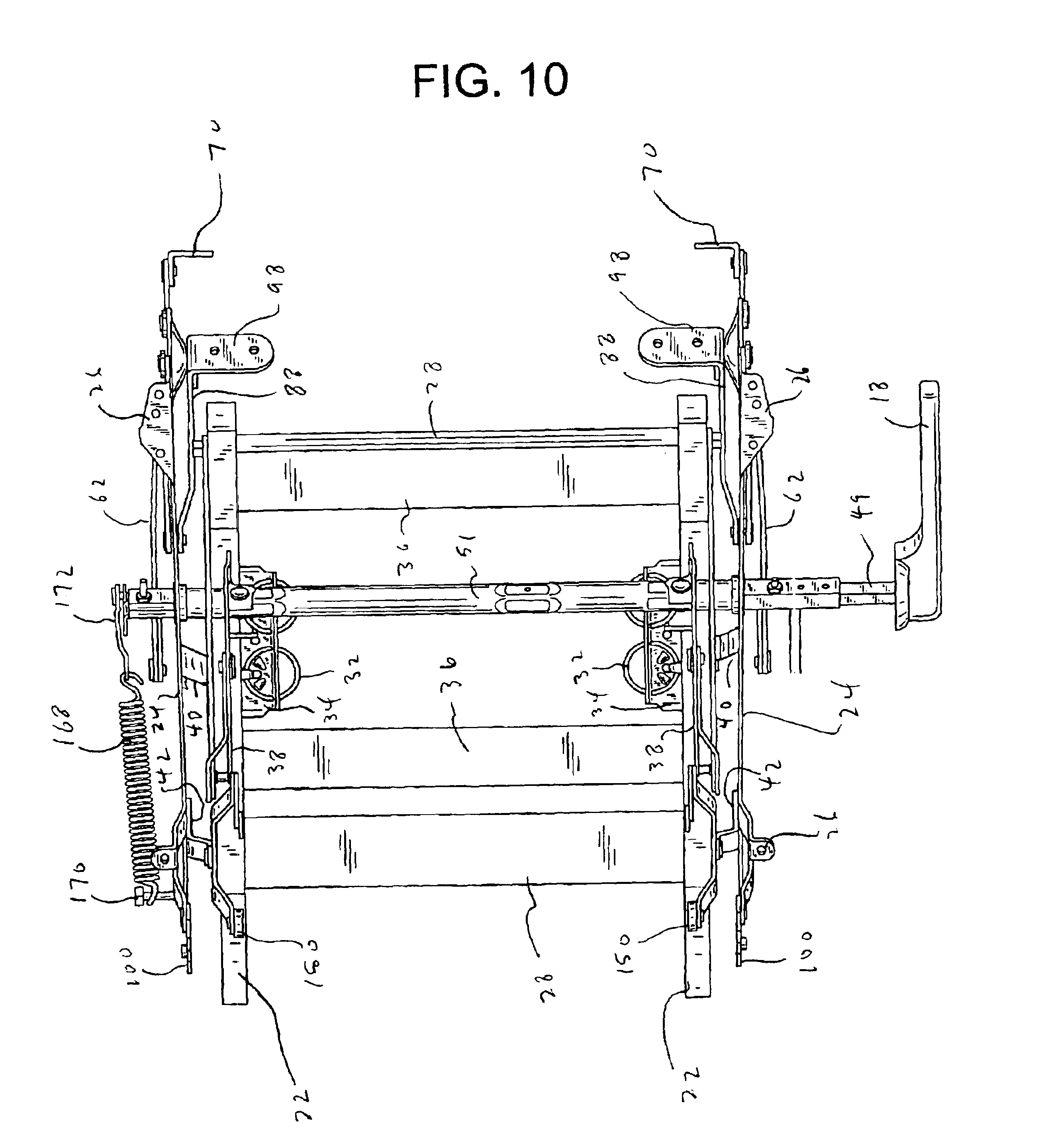 Patent US6945599 Rocker Recliner Mechanism Google Patenten
