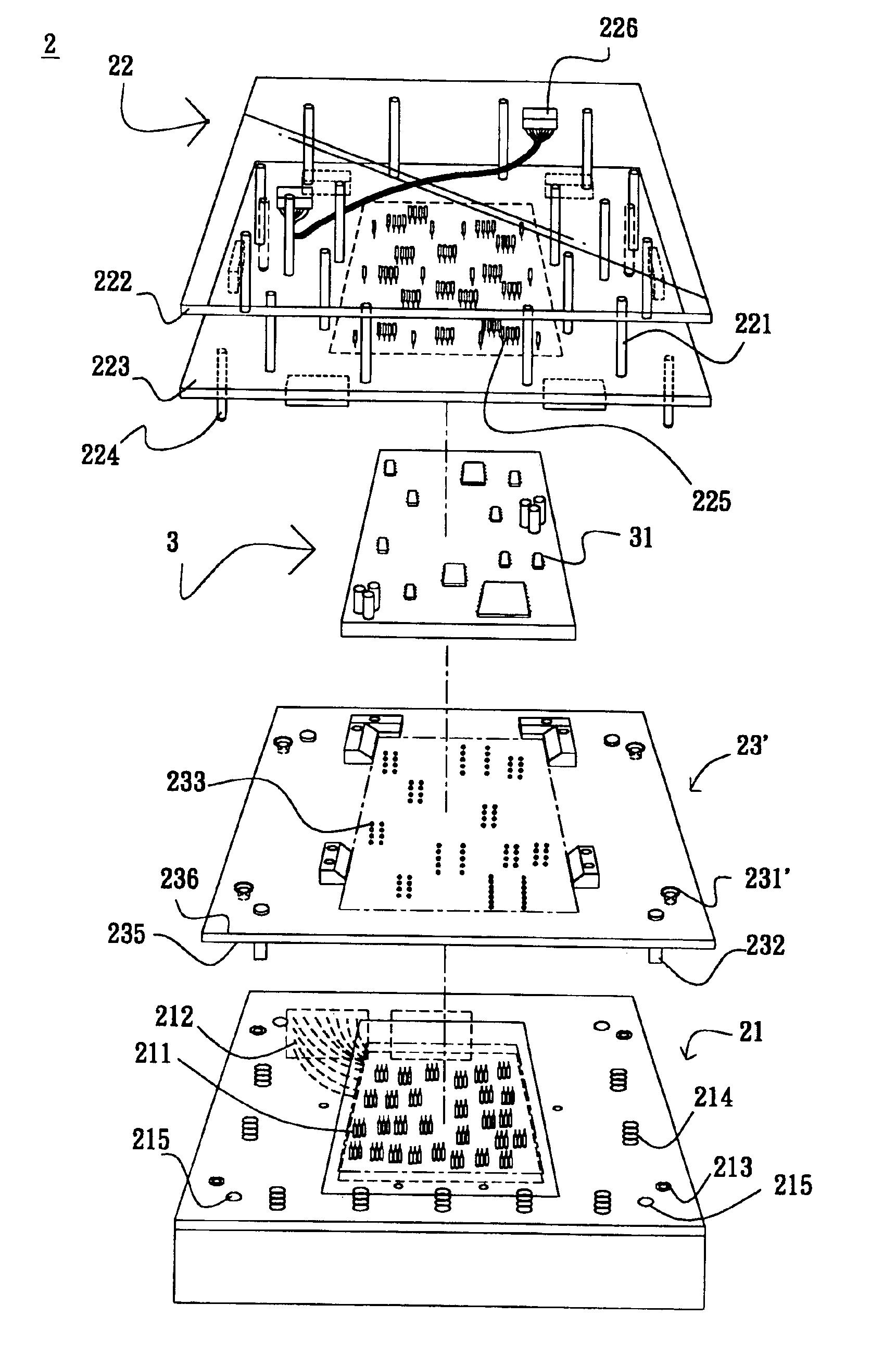 patent us6946861 - circuit board testing jig