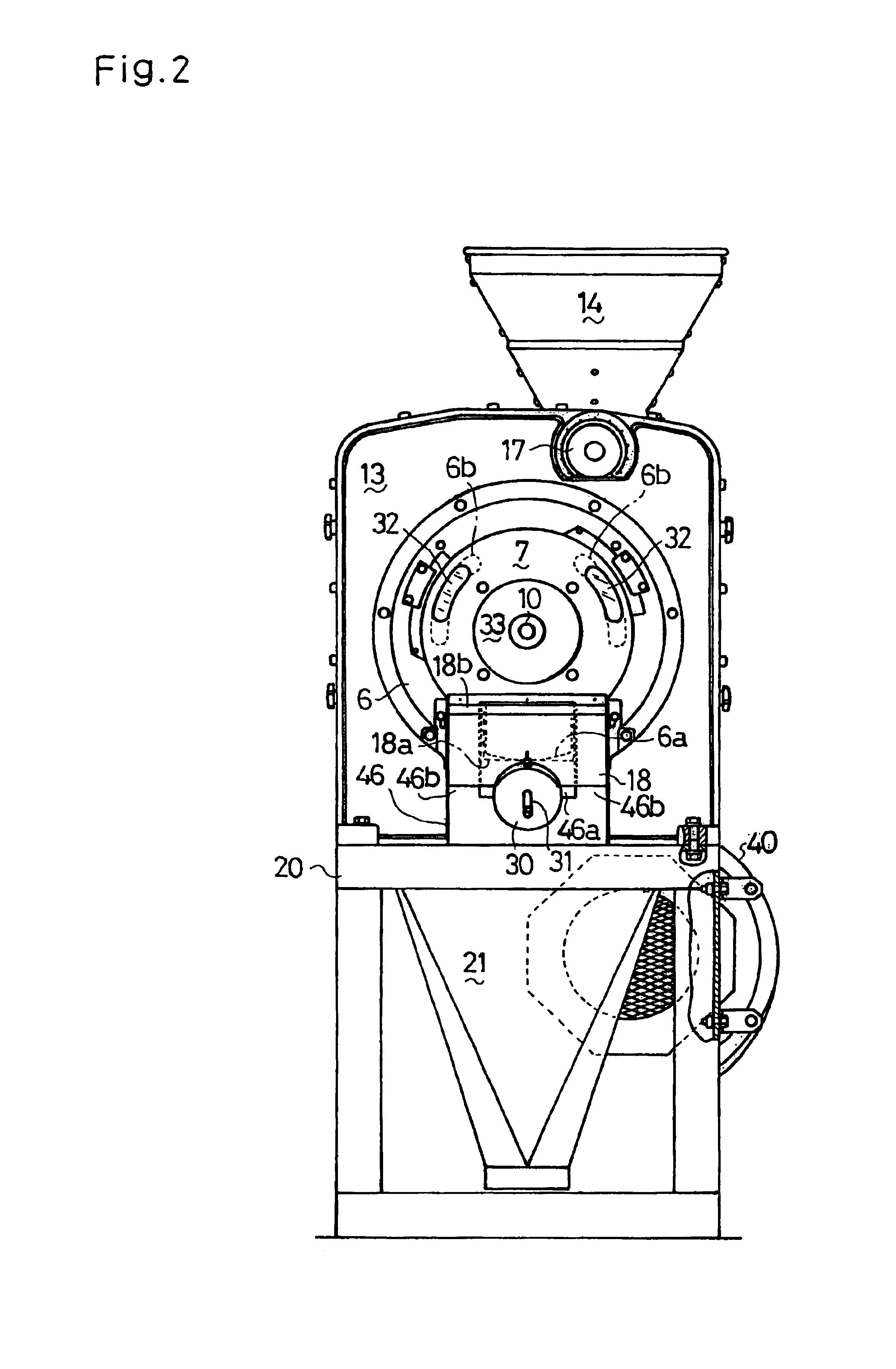 Rice Milling Machine Drawing Patent Drawing