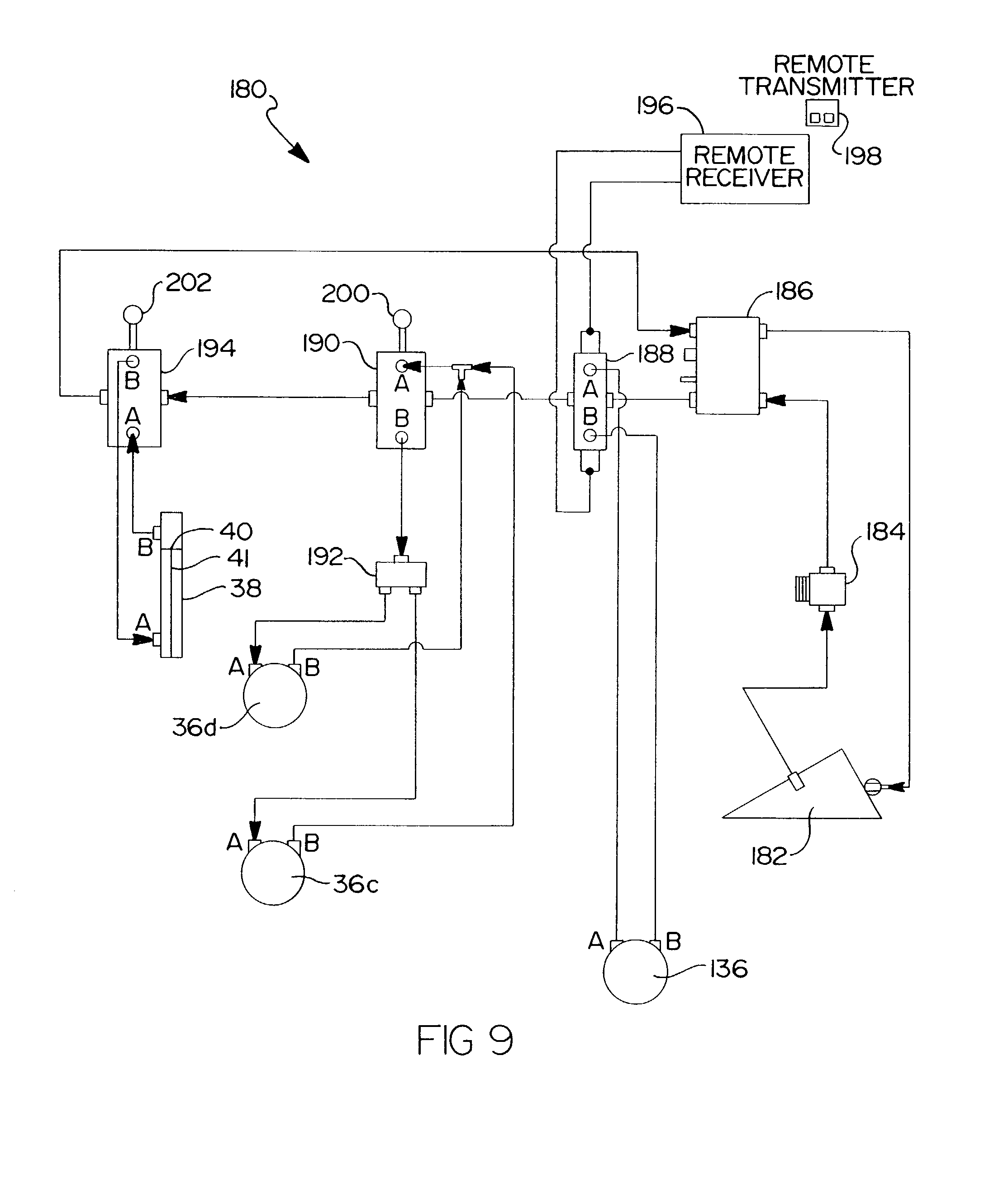 Patent Us6955310 - Remote Control Assembly For Wood Chipper