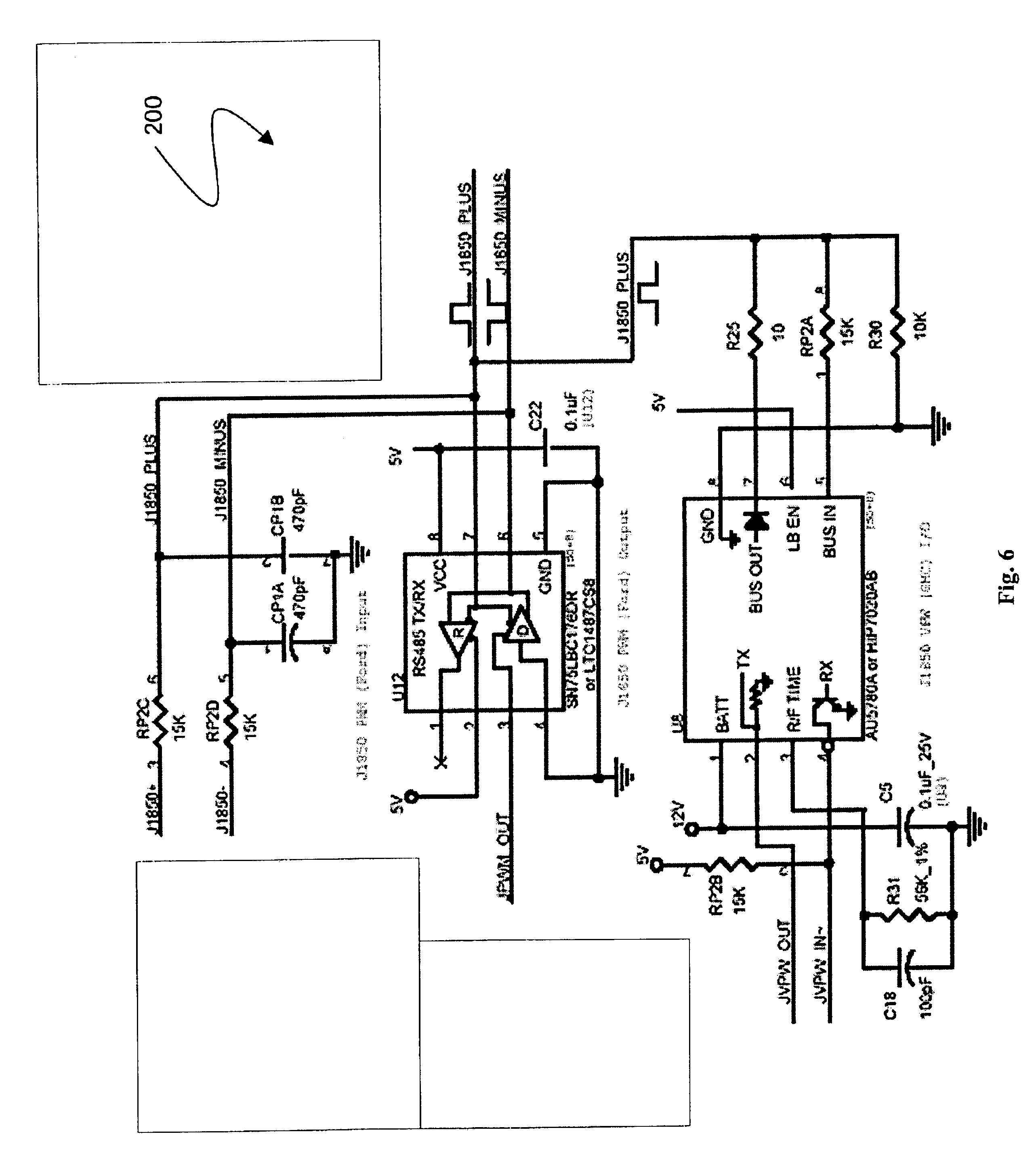 patent us6957133 small scale integrated vehicle telematics patent drawing