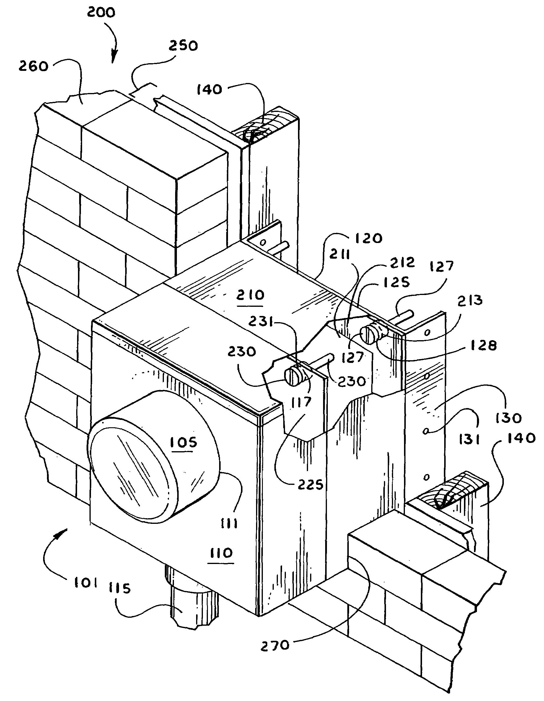 patent us6958447 meter base bracket apparatus and system Meter Socket Diagram patent drawing