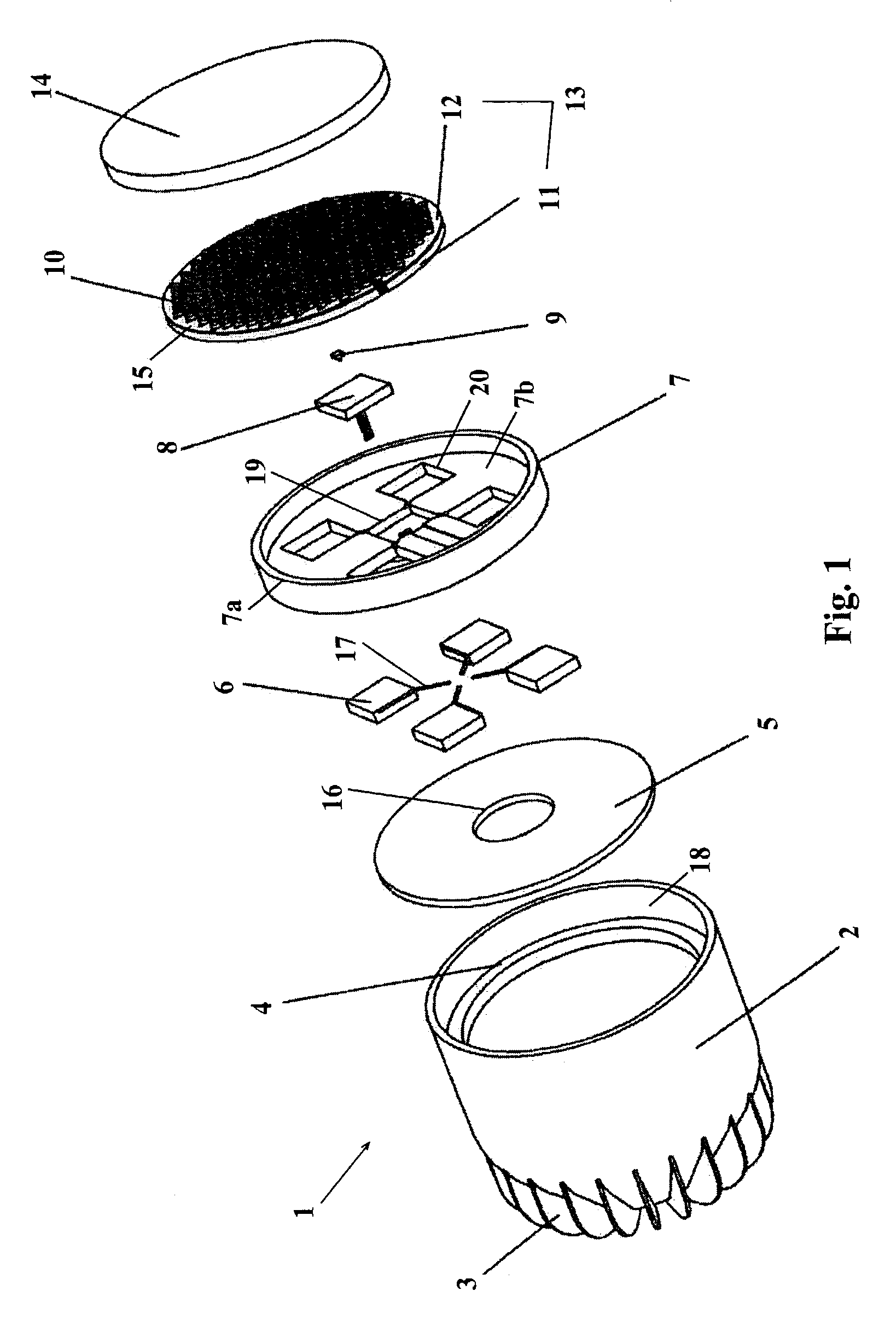 patent us6964501 - peltier-cooled led lighting assembly