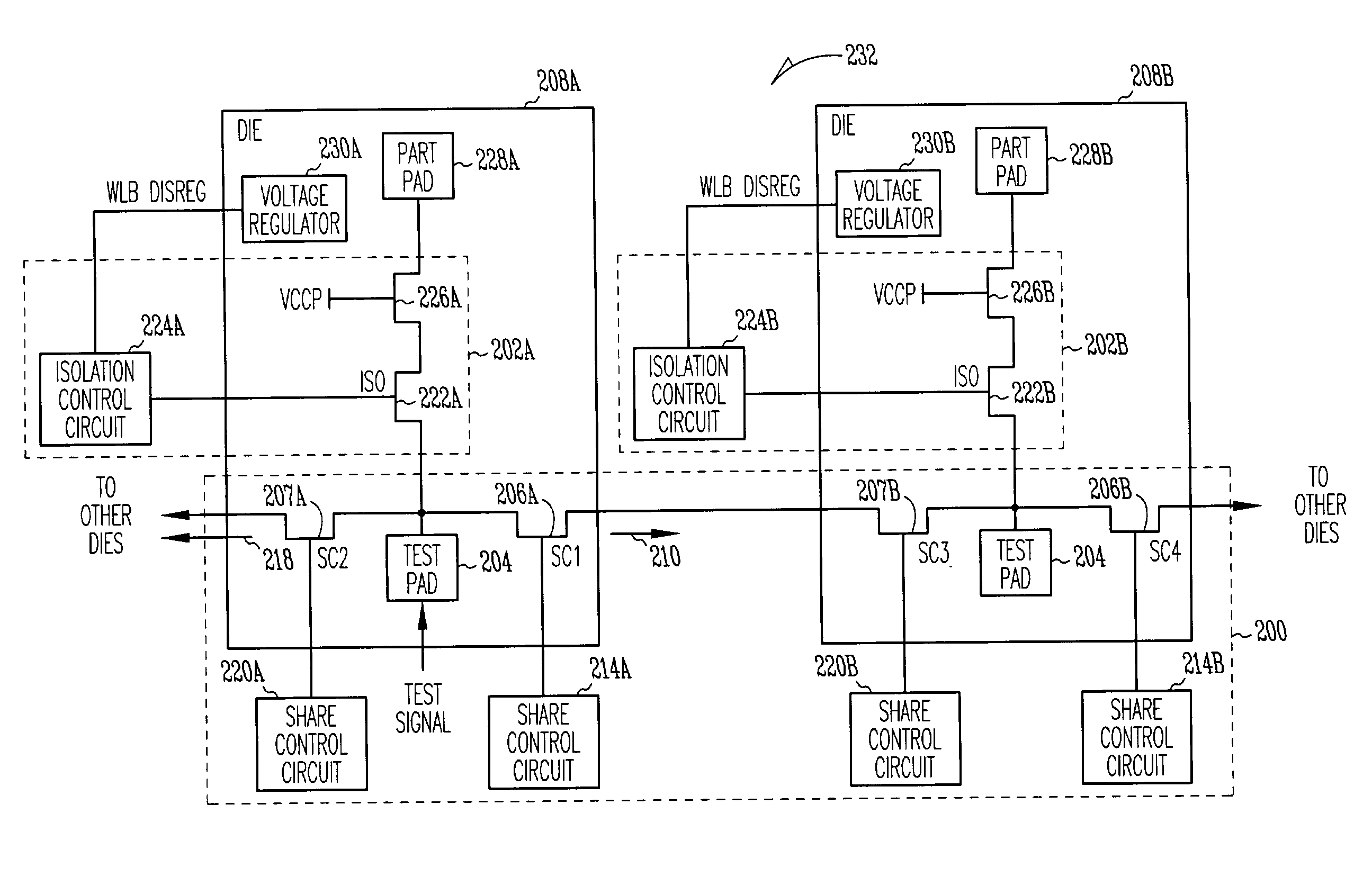Signal Isolation Circuit : Patent us signal sharing circuit with
