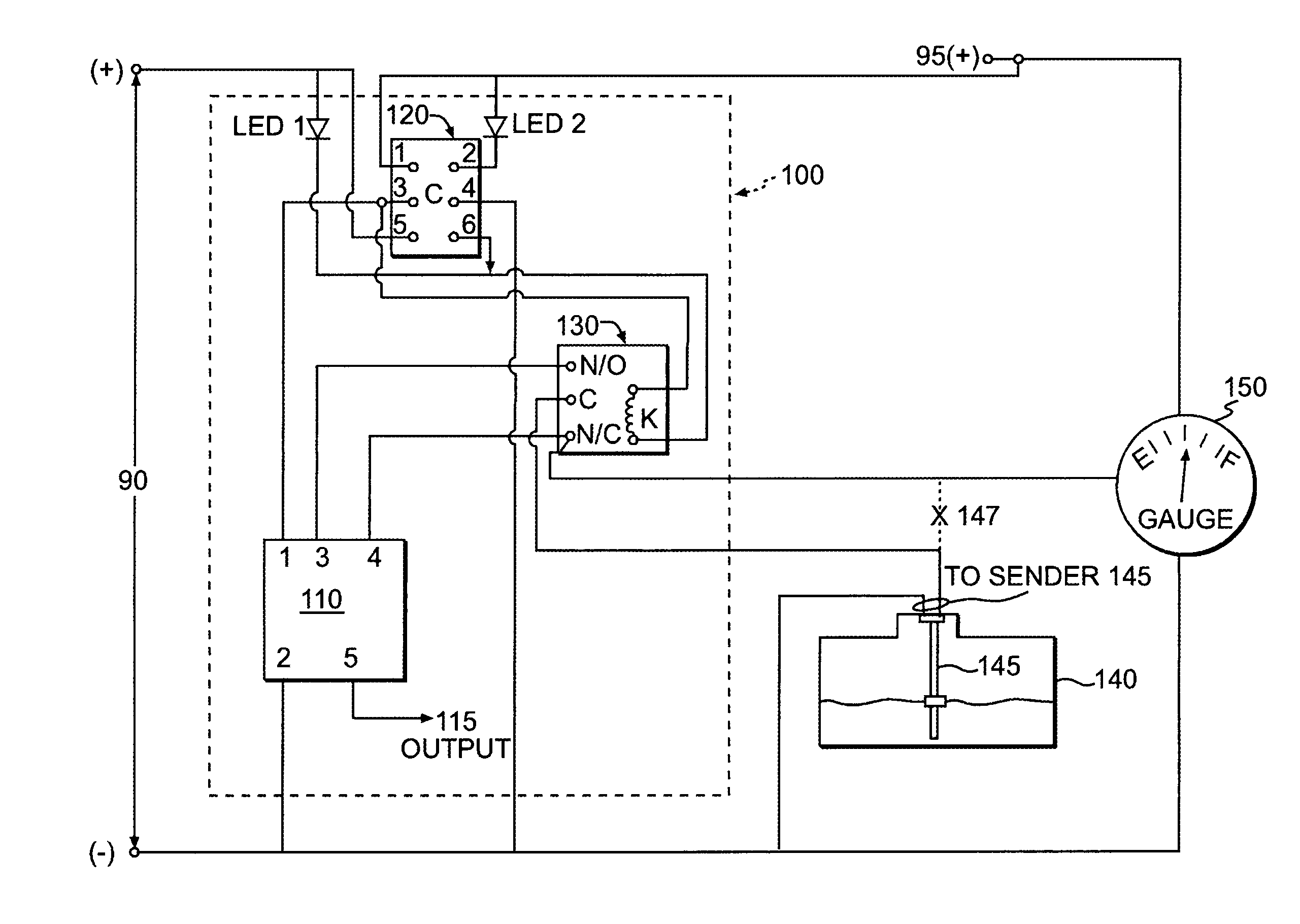 US06970079 20051129 D00000 patent us6970079 high low level alarm controller google patents sje rhombus wiring diagram at gsmportal.co