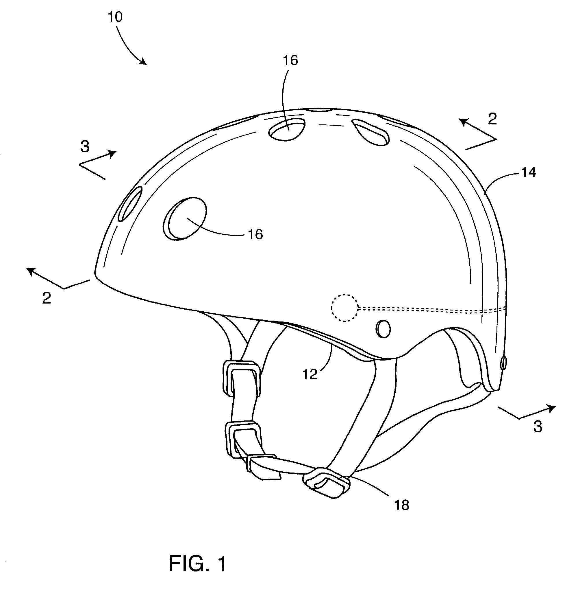 Patent Us6970691 Sports Helmet Having Integral Speakers Google