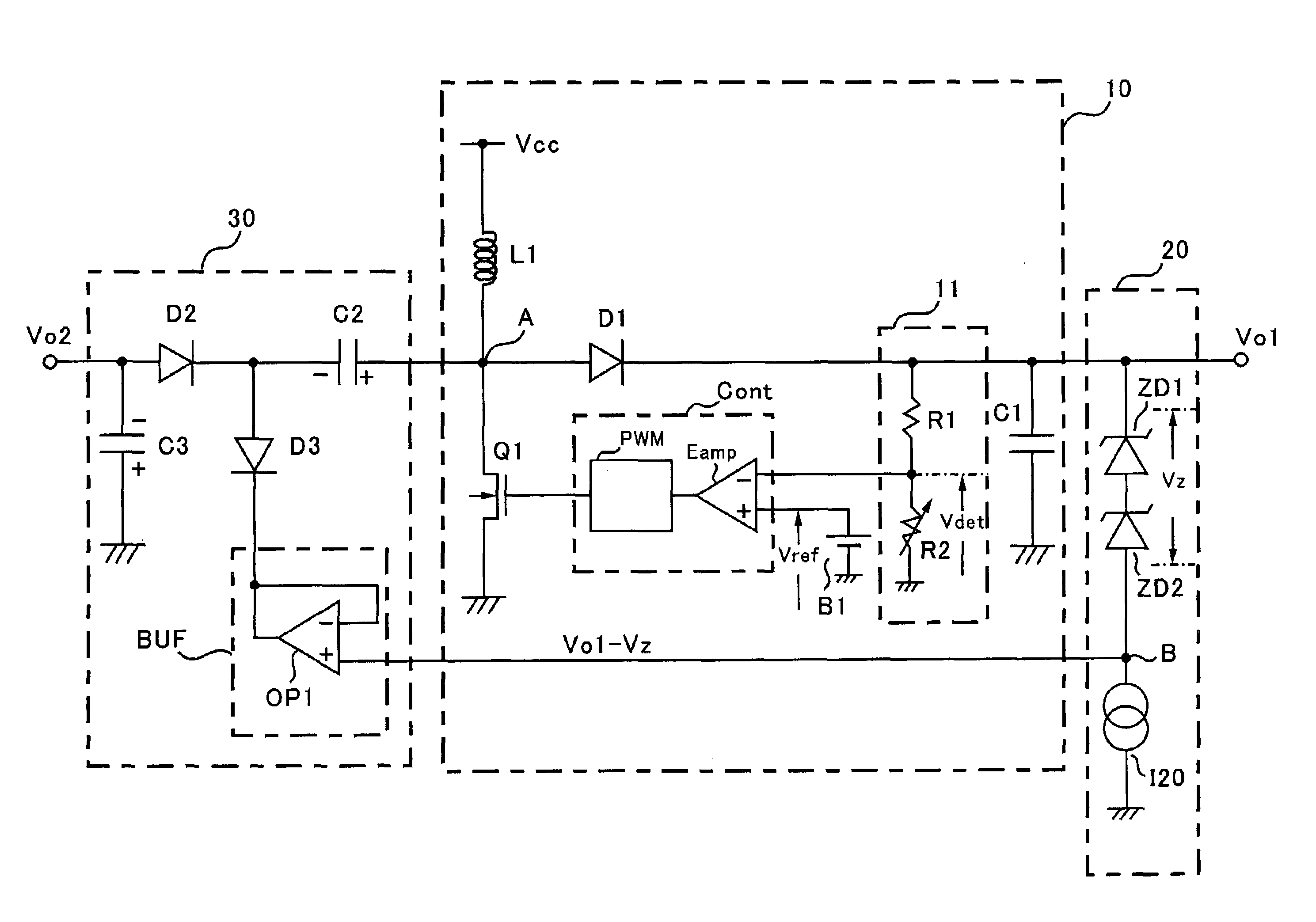 Power Supply Schematic Diagram 1555a Detailed Wiring Diagrams Msd Ignition For A R2857167ac Patent Us6972547 Positive And Negative Output