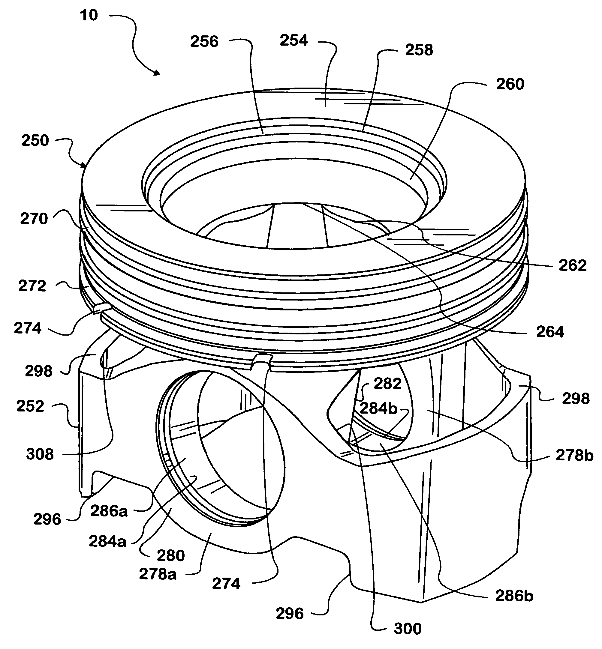 Patent us6973723 piston formed by powder metallurgical methods patent drawing nvjuhfo Choice Image
