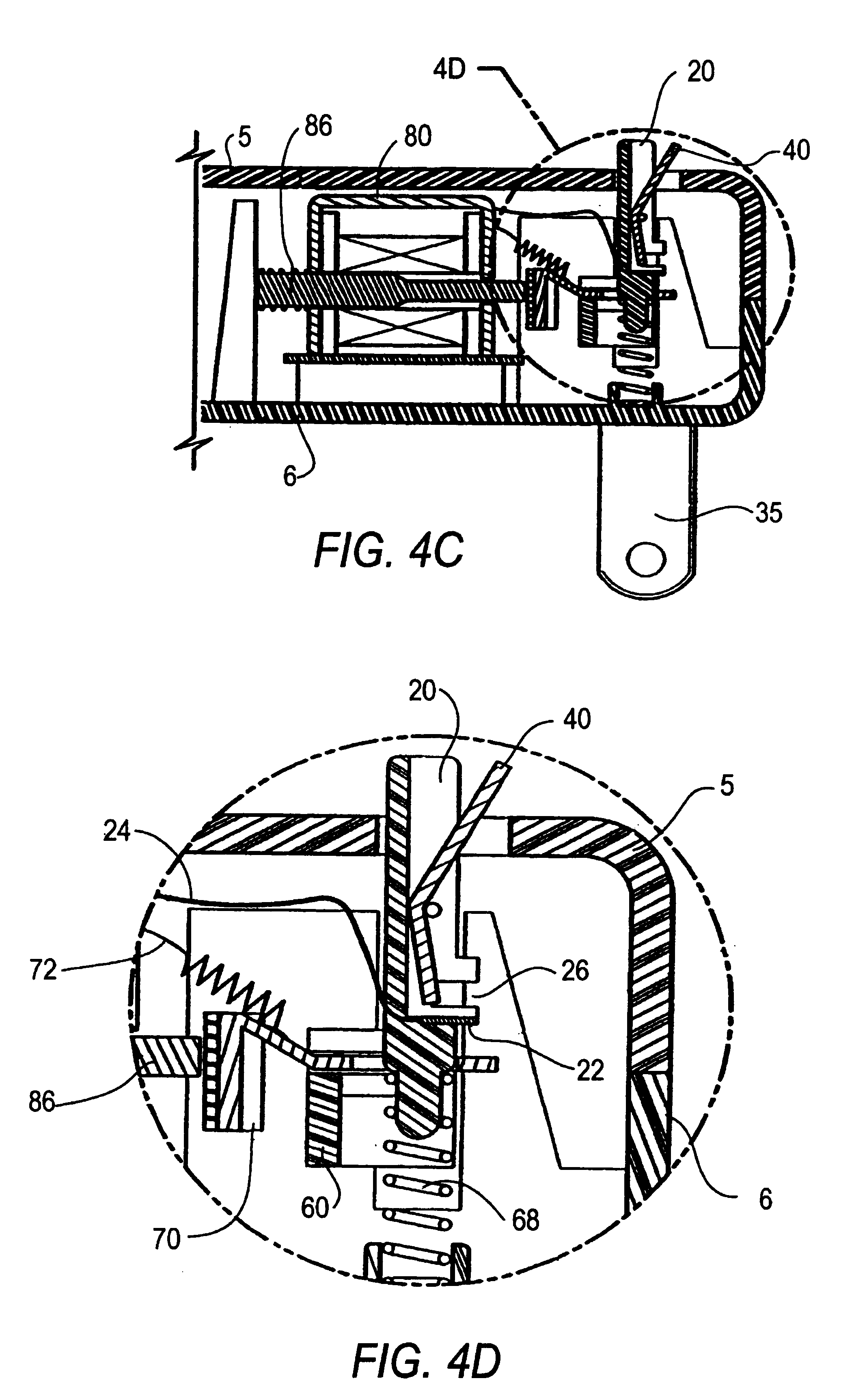 Patent Us6975192 Idci With Reset Lockout And Independent Trip Cooper Wiring Devices Inc Drawing