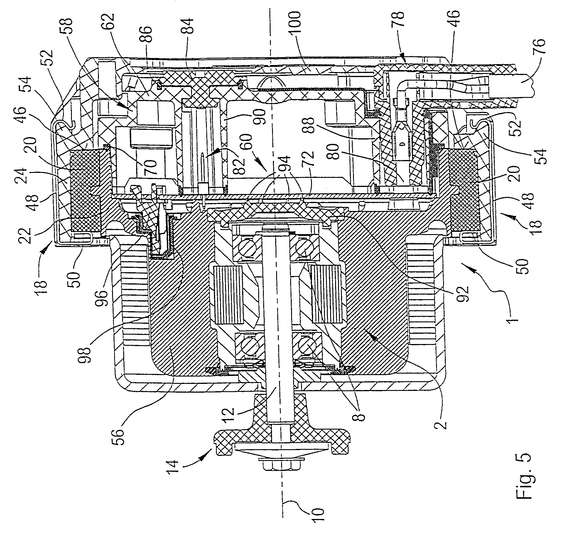 Patent Us6987336 Electric Motor With Screwless Plug Type