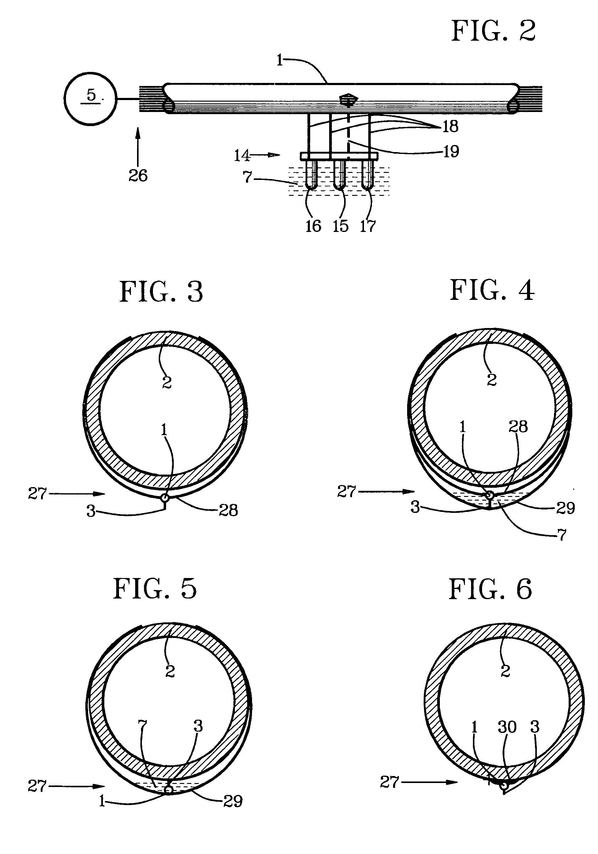 patent us6987458 - leak stopper system for water plumbing