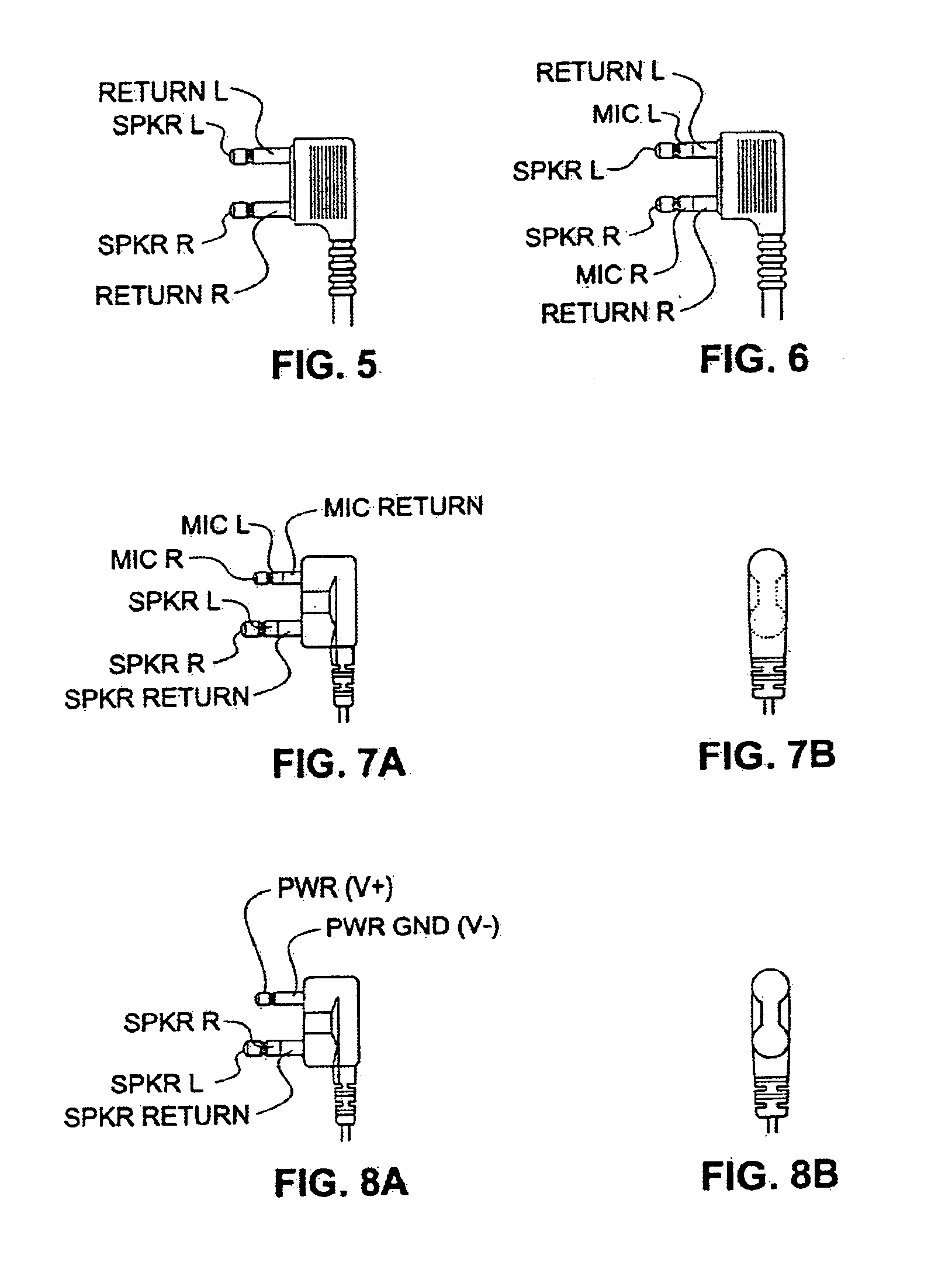 patent us6988905 audio jack with plug or head set identification