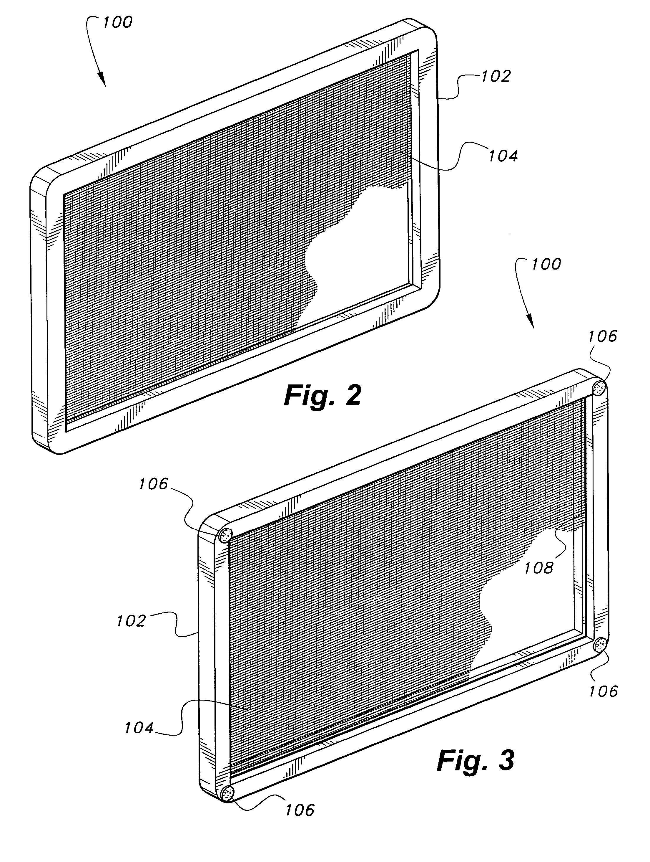 Patent Us6989094 Pool Skimmer Screen Google Patents