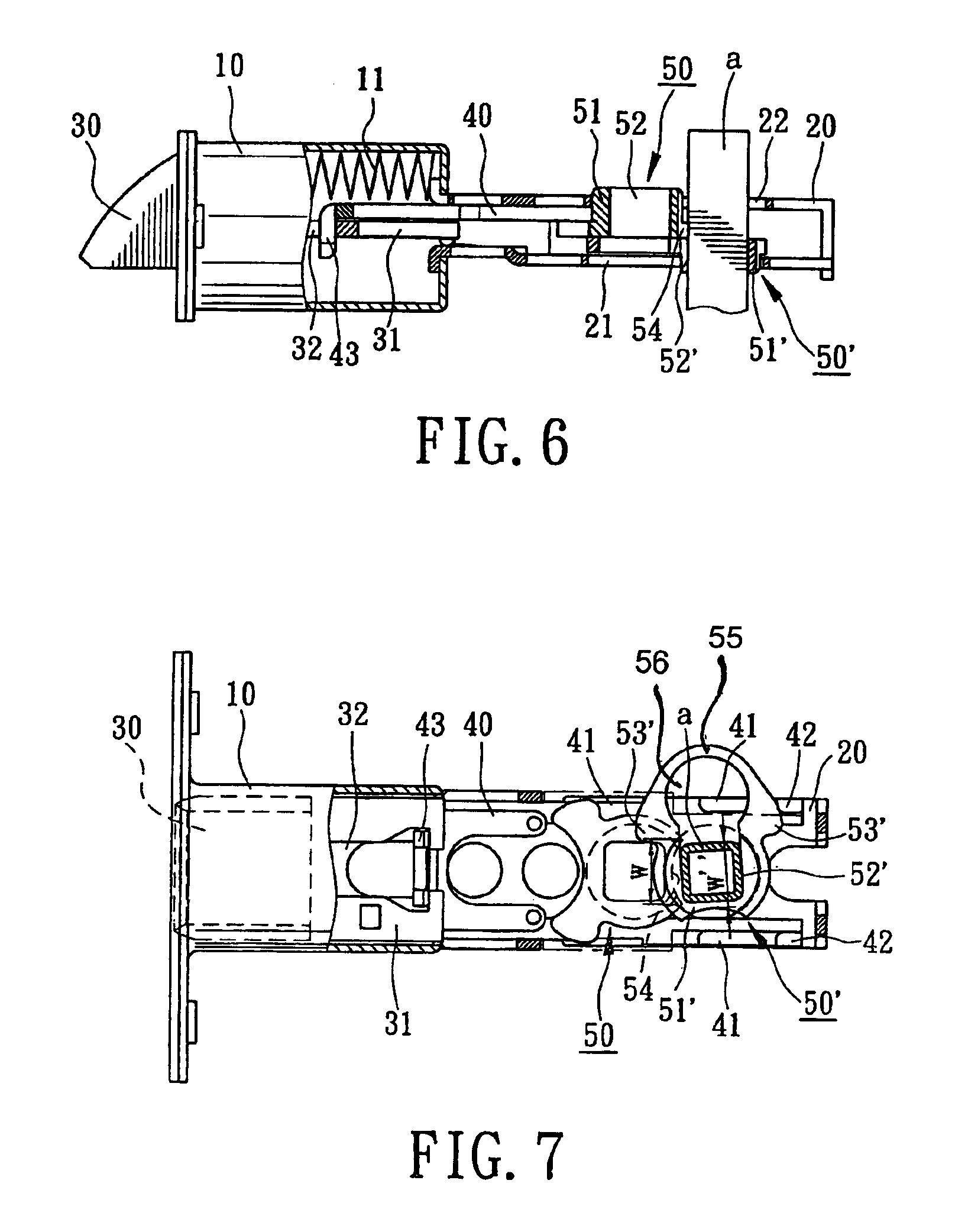Patent Us6991271 Latch Assembly With Adjustable Backset