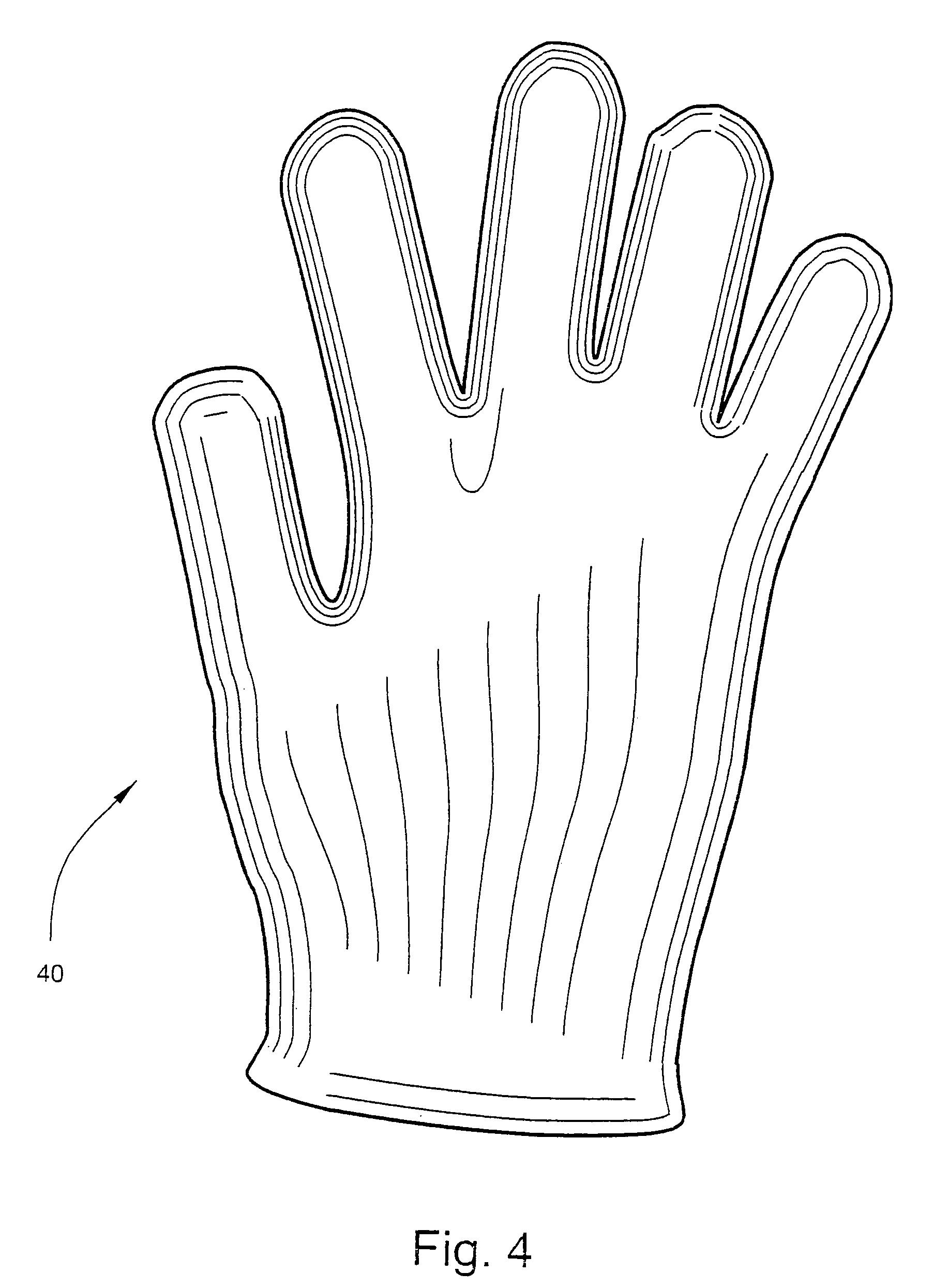 简笔画 手绘 手套 线稿