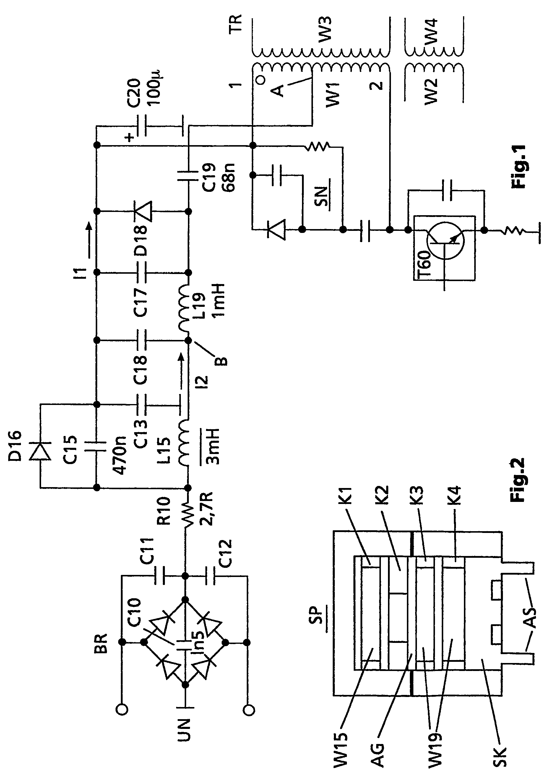 patent us7002320 - power factor correction circuit with a coil