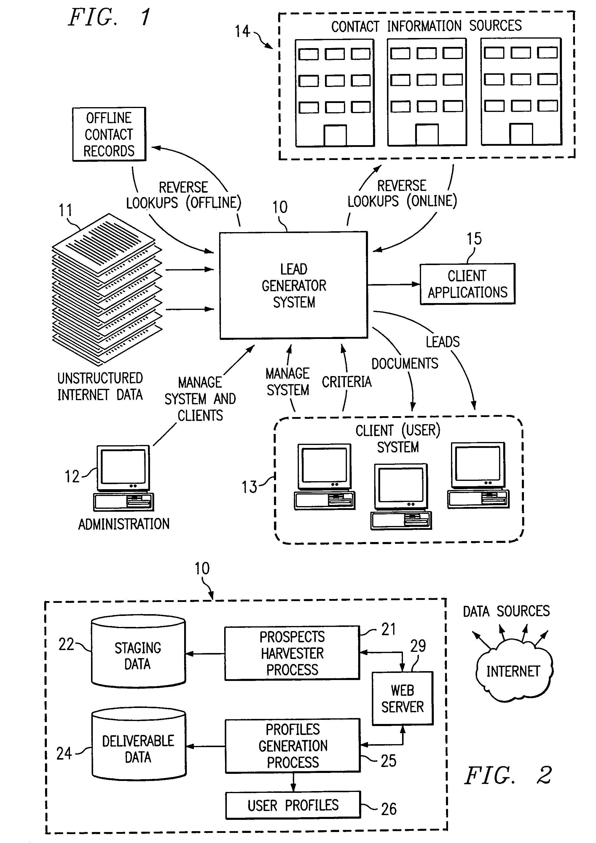 US07003517 20060221 D00001 patent us7003517 web based system and method for archiving and on any ecommer template with ms sql database