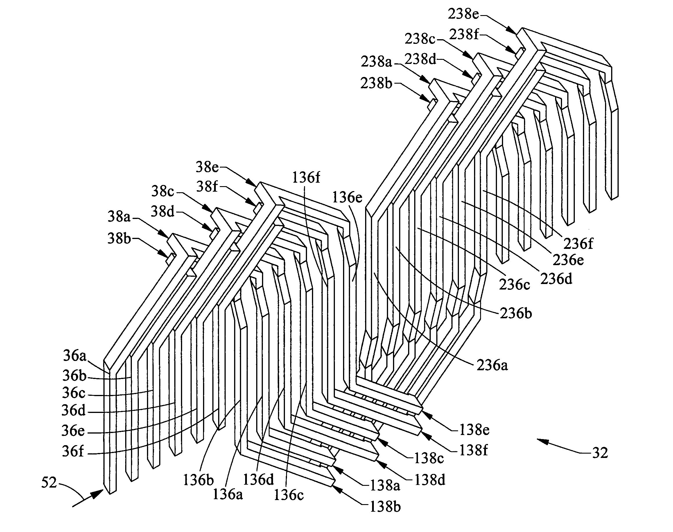 patent us7005772 - stator winding having two slots per phase per pole