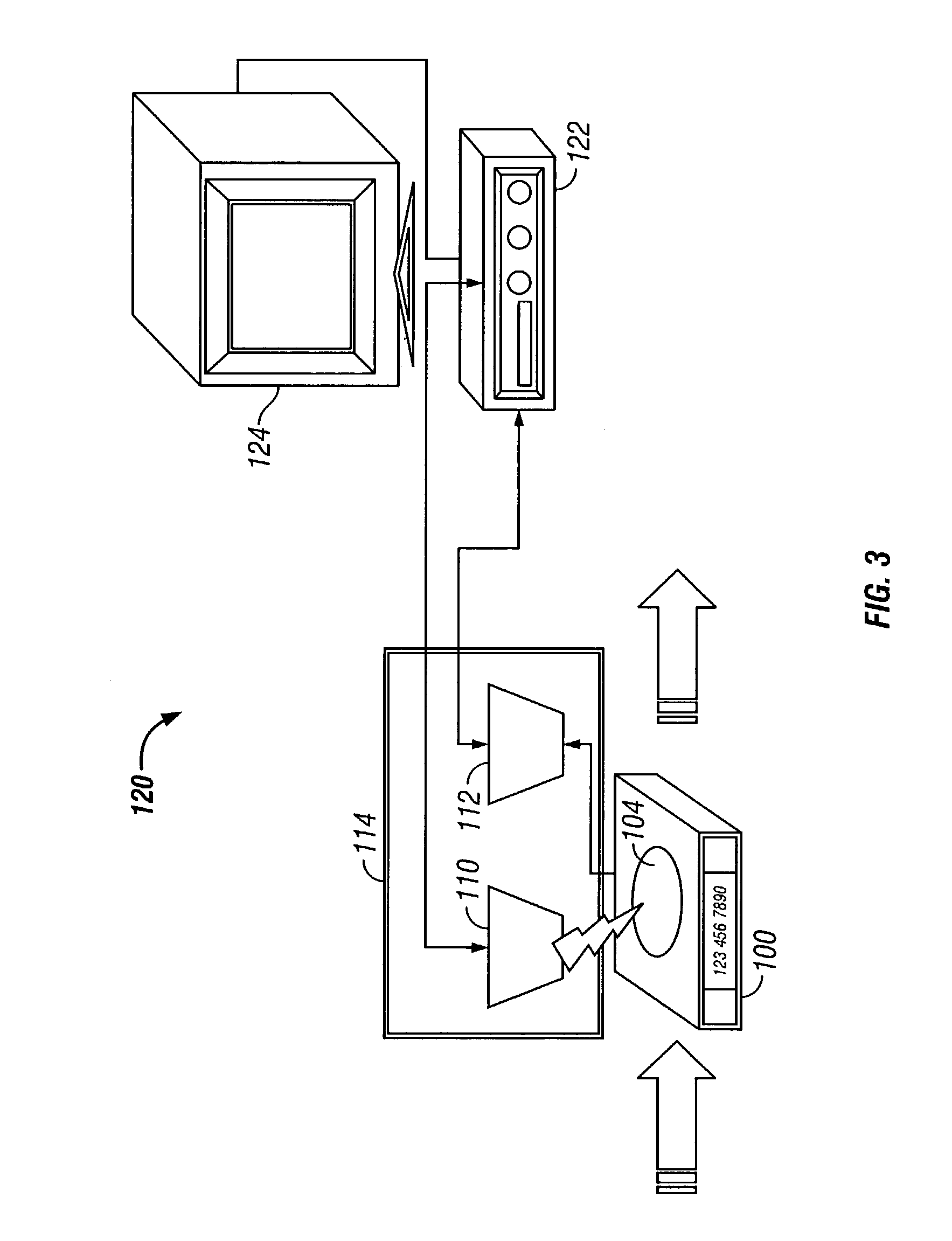 patent us7010647 - computer system with removable data storage device and method