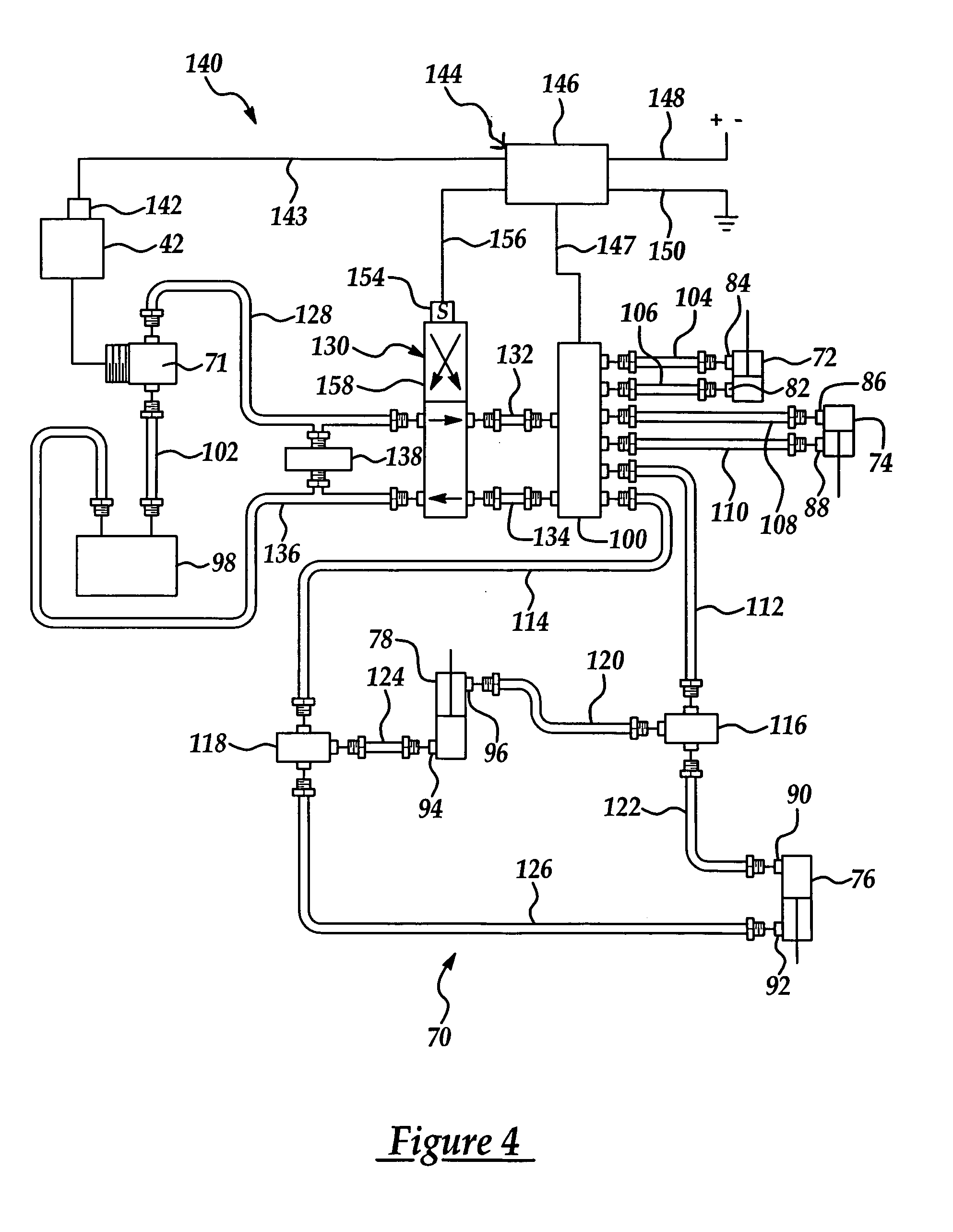 patent us7011124 - stump grinder having automatic reversing feed assembly