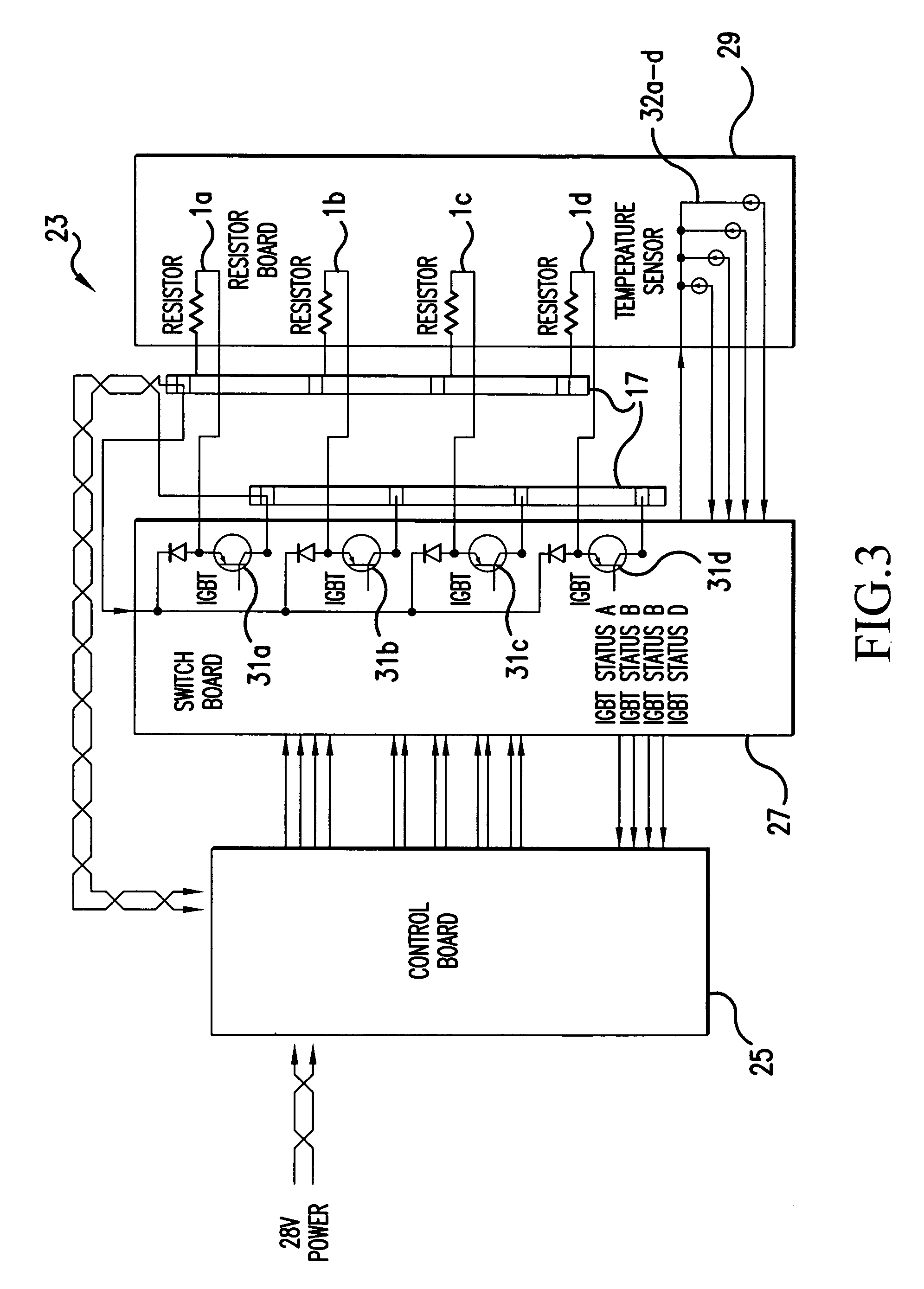 patent us7012392 - multi-stage dynamic braking resistor network