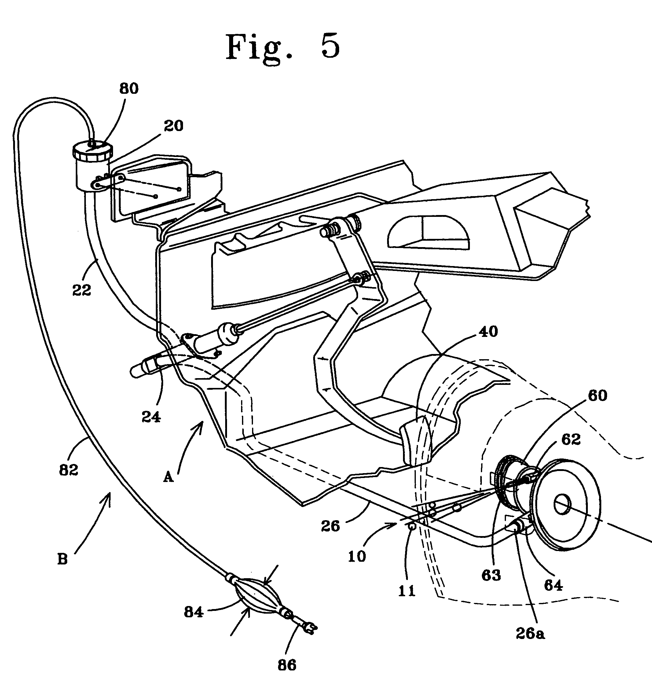 Patent Drawing: Ford Ranger Clutch Slave Cylinder Diagram At Chusao.net