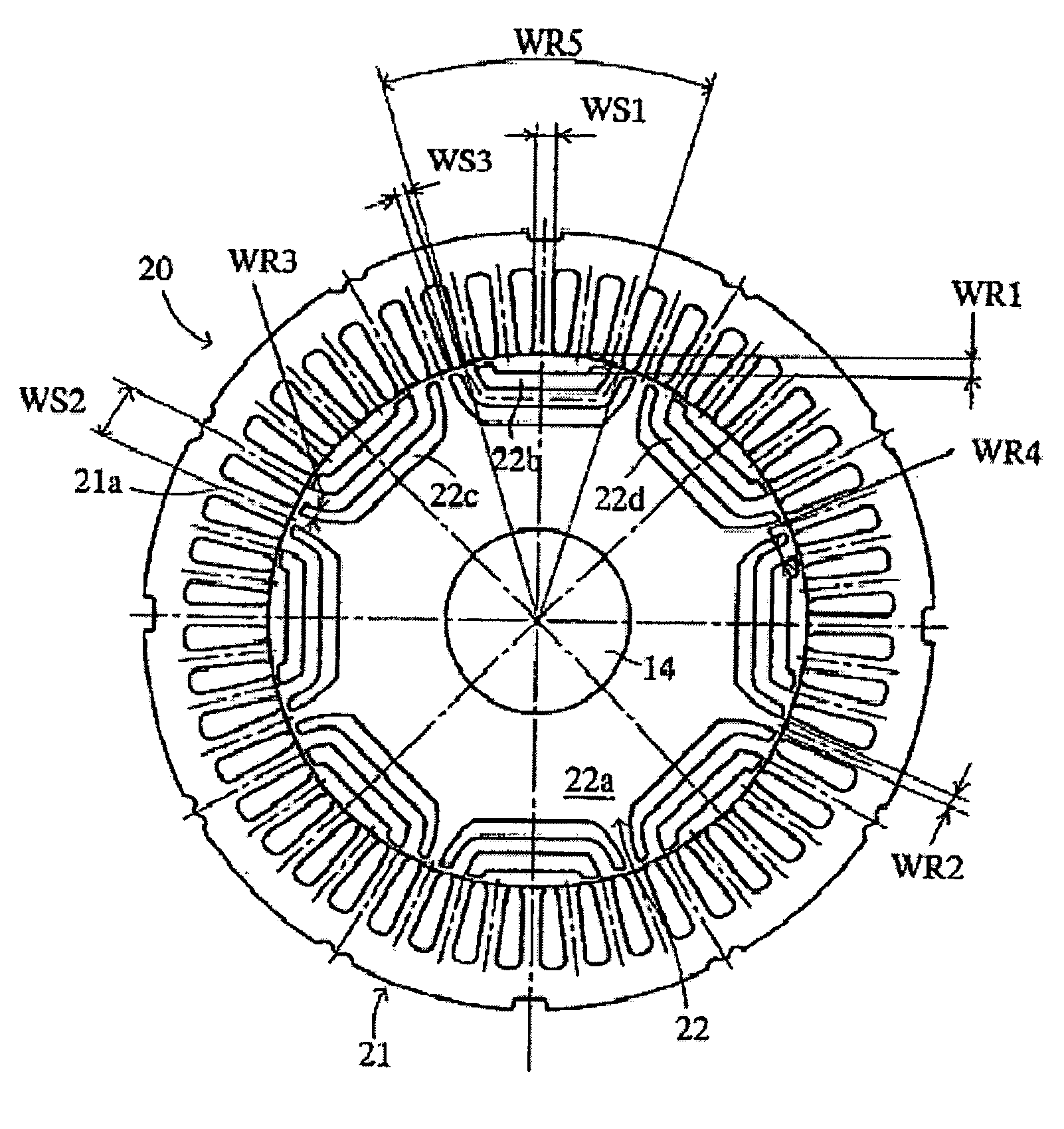 Patent Us7015614 Synchronous Reluctance Motor Google