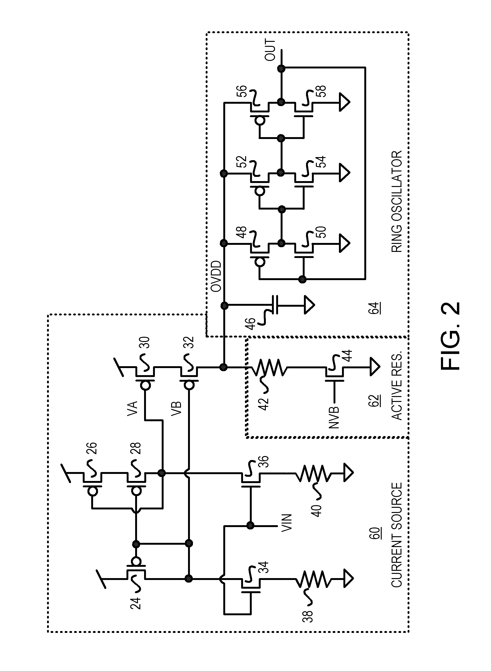 Brevet Us7015766 Cmos Voltage Controlled Oscillator Vco With A The Circuit That We Will Build Patent Drawing
