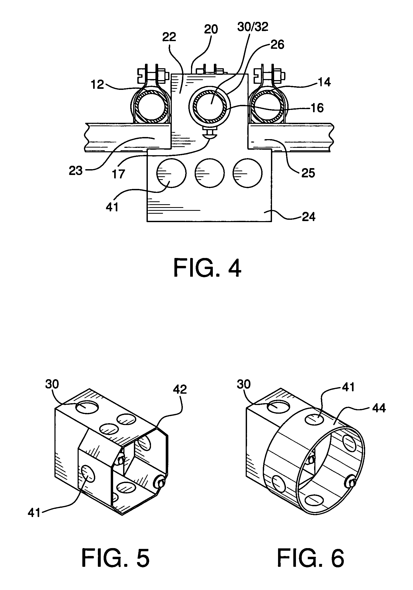 patent us7022912 - conduit rack junction box