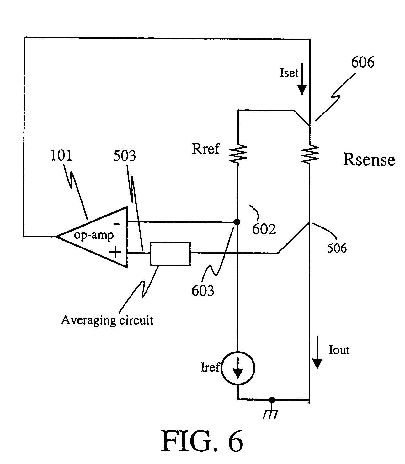Patent Us7031855 Current Sense Resistor Circuit With Averaging Diagram Drawing