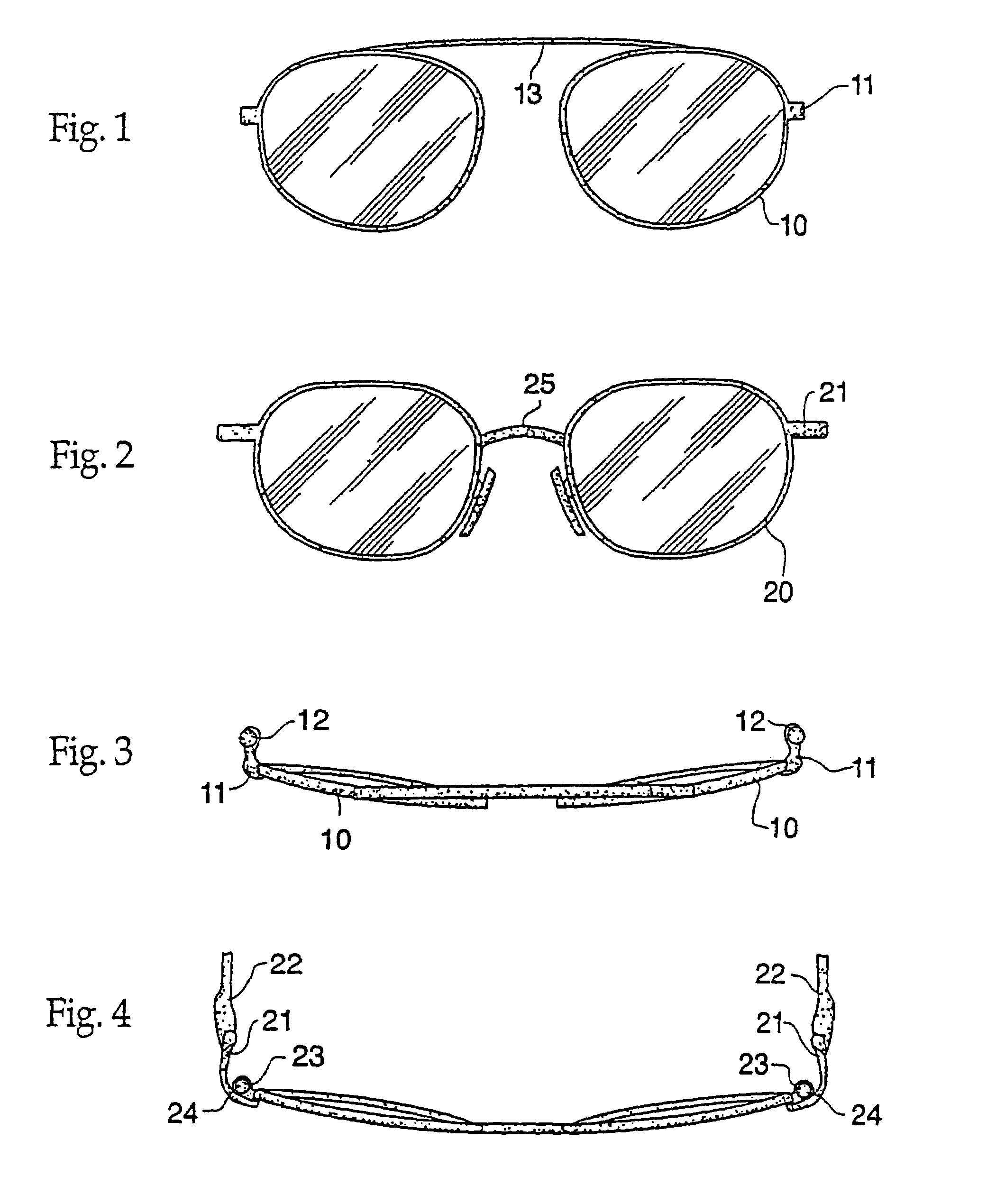 cheap eyeglass frames online  us7033019 - eyeglass
