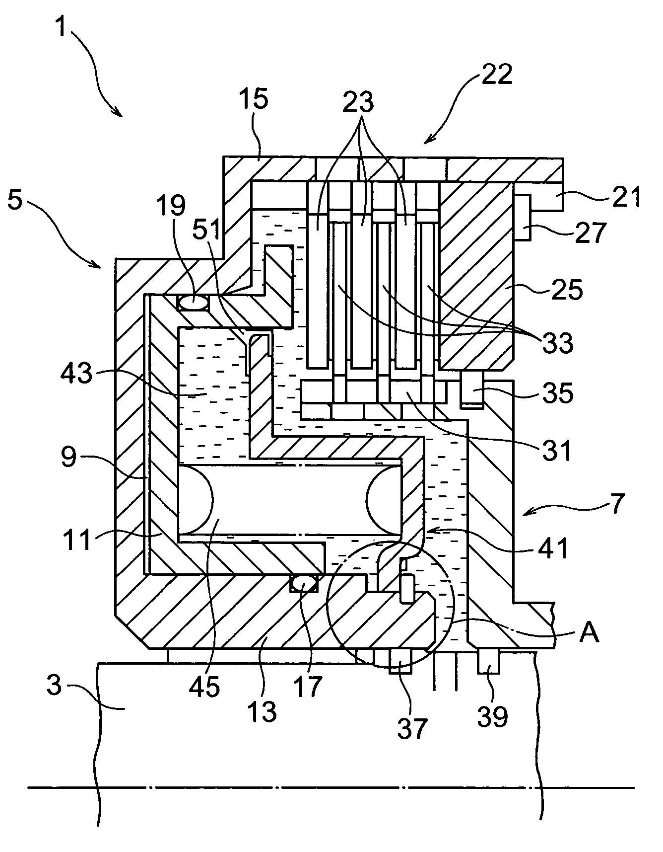 patent us7036646 - wet-type multiple disc clutch