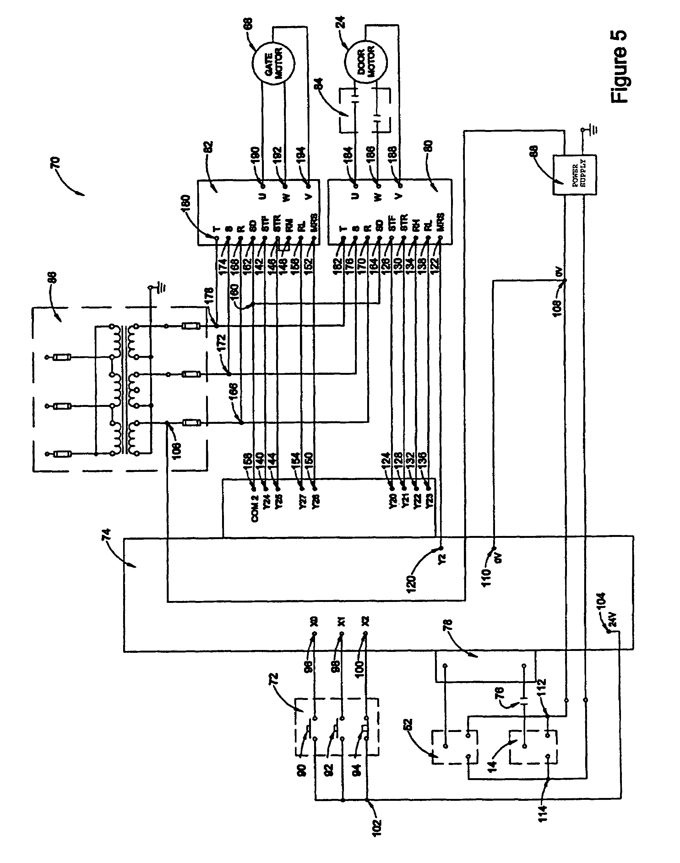 patent us motor speed controller system for freight patent drawing