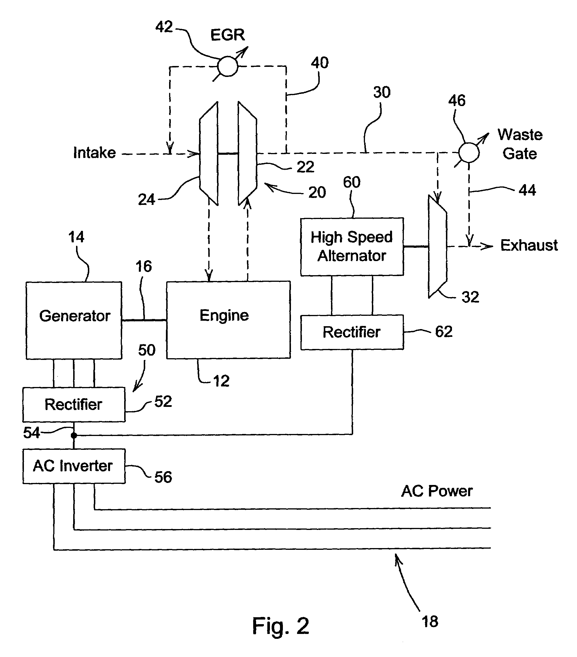 Electric Turbocharger Patents: Electric Turbo Compound Configuration