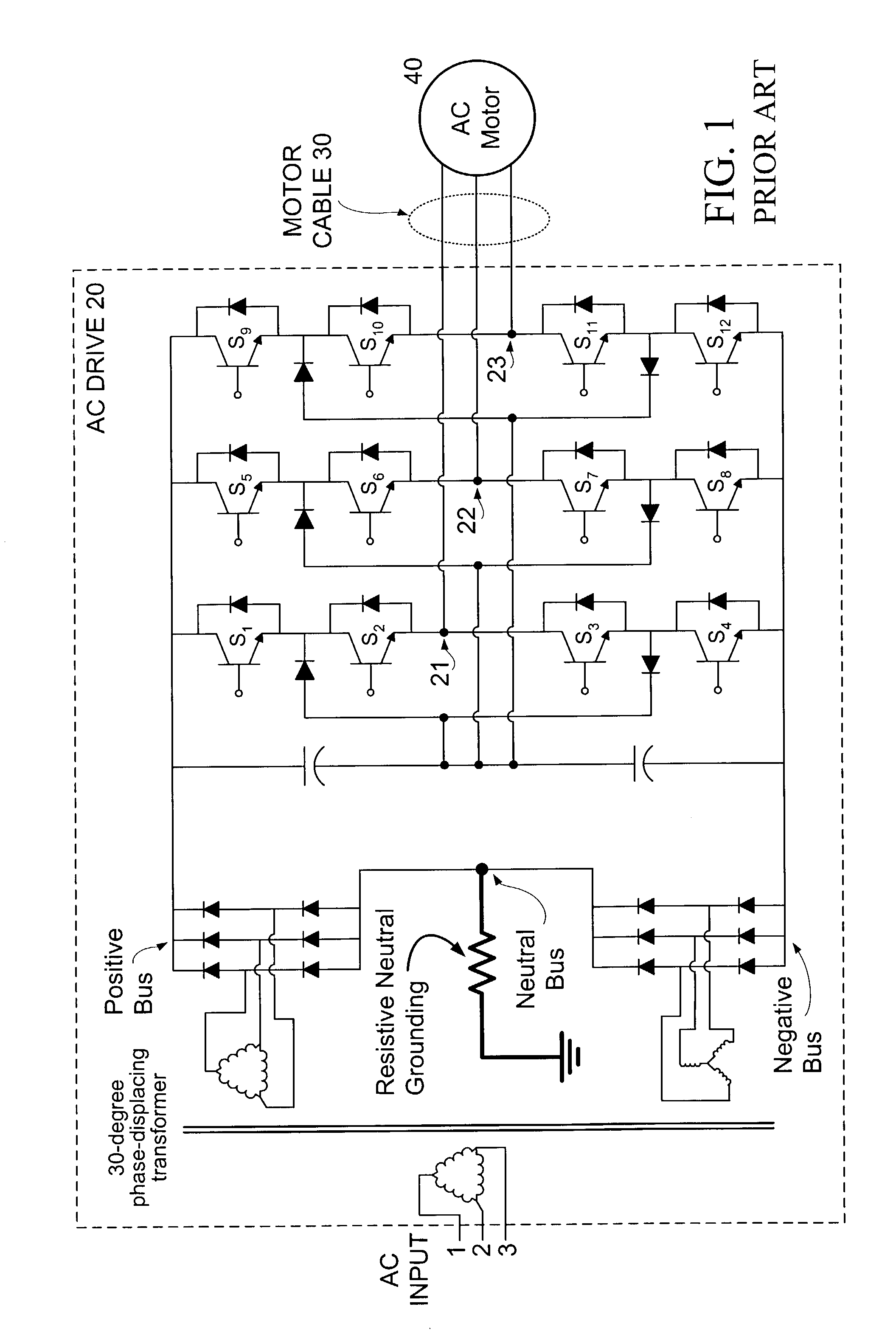 Patent US Method And Apparatus For High Impedance - Neutral displacement relay working principle