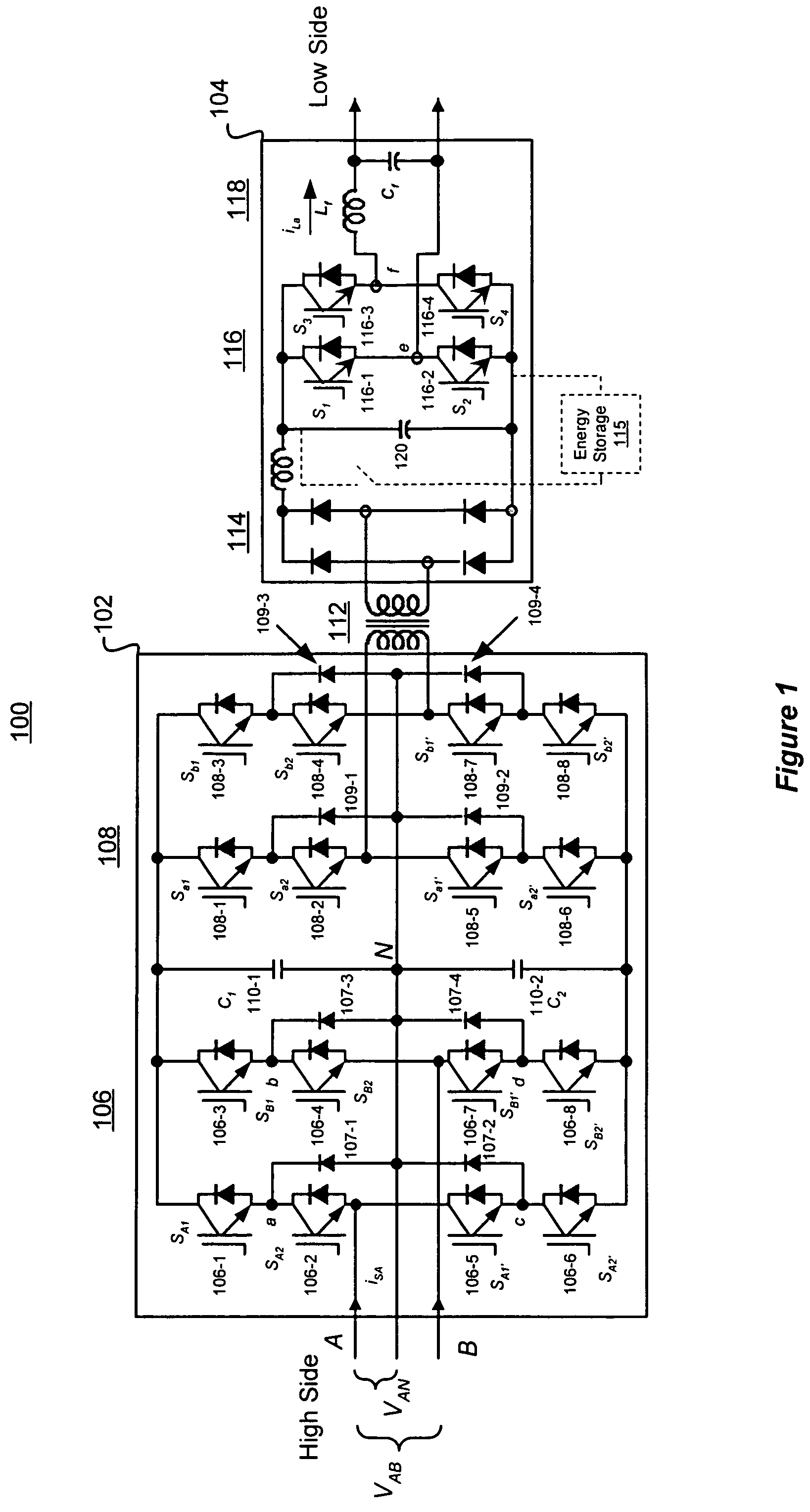 patent us7050311 - multilevel converter based intelligent universal transformer