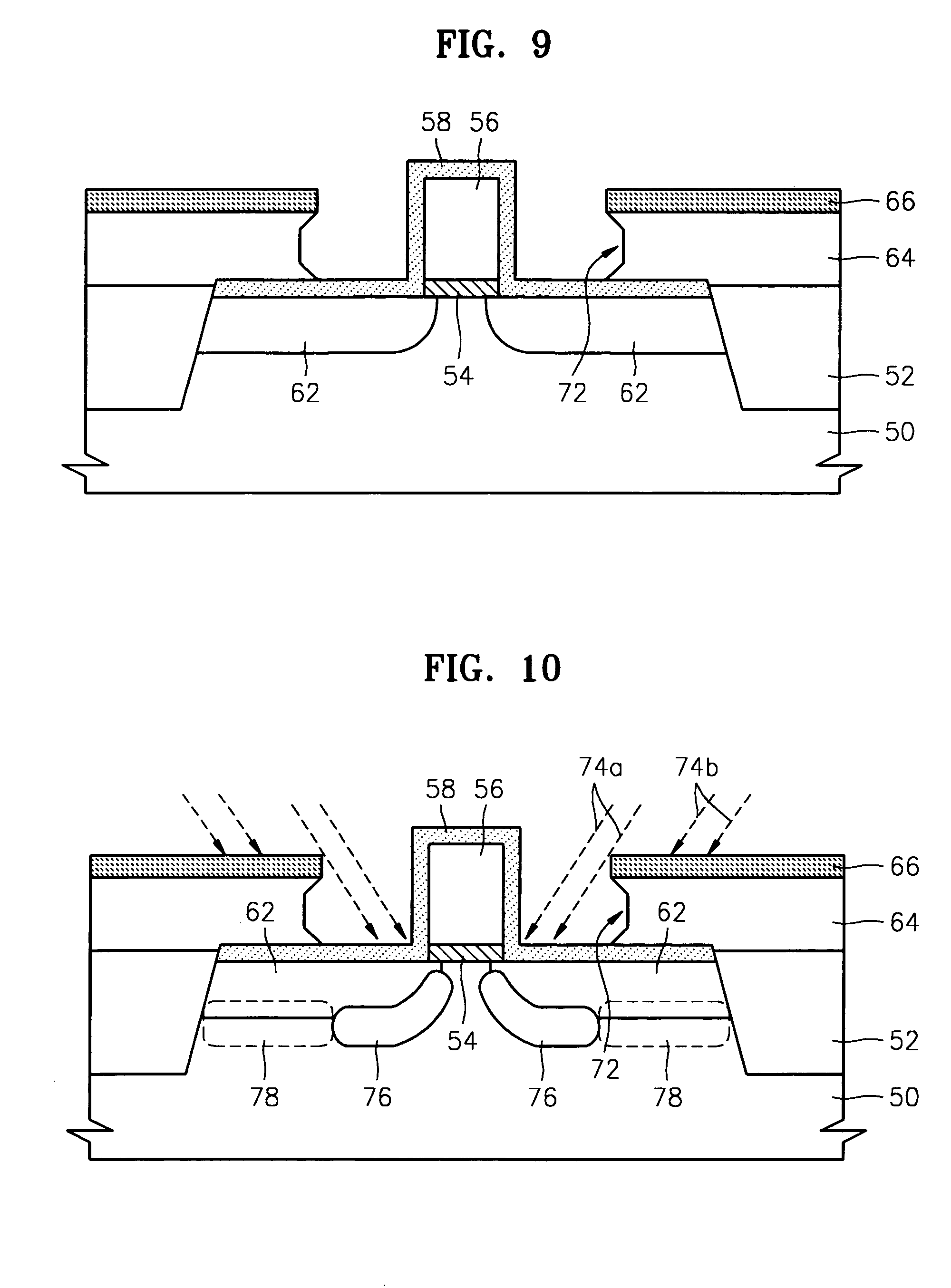 patente us7052965 methods of fabricating mos field effect patent drawing