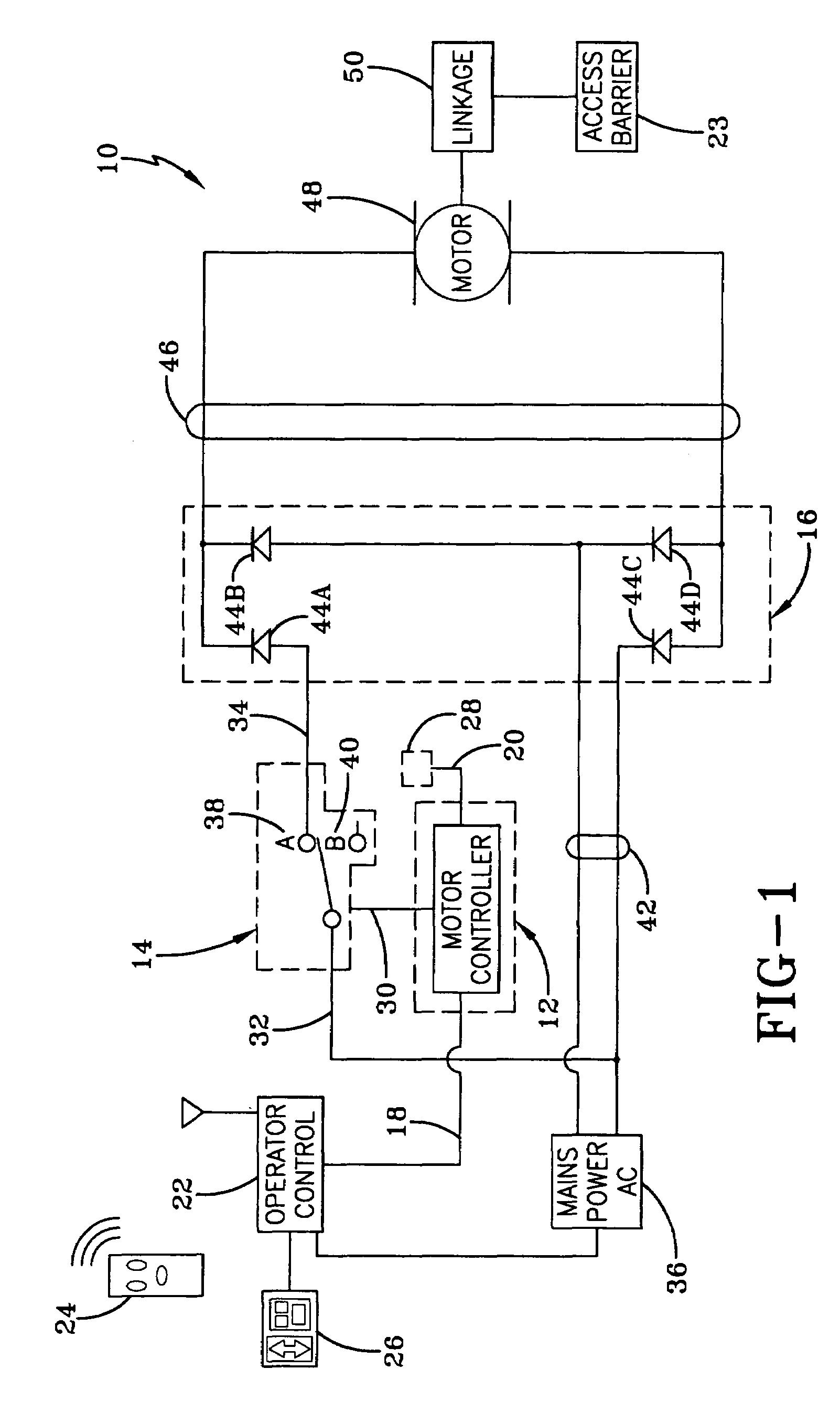 Patent US7053571 - Electric motor control circuit having ...