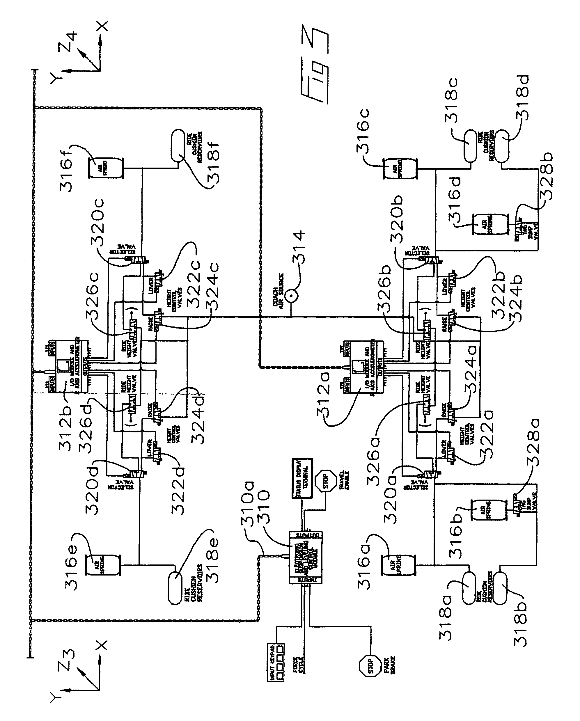 haldex abs system schematic