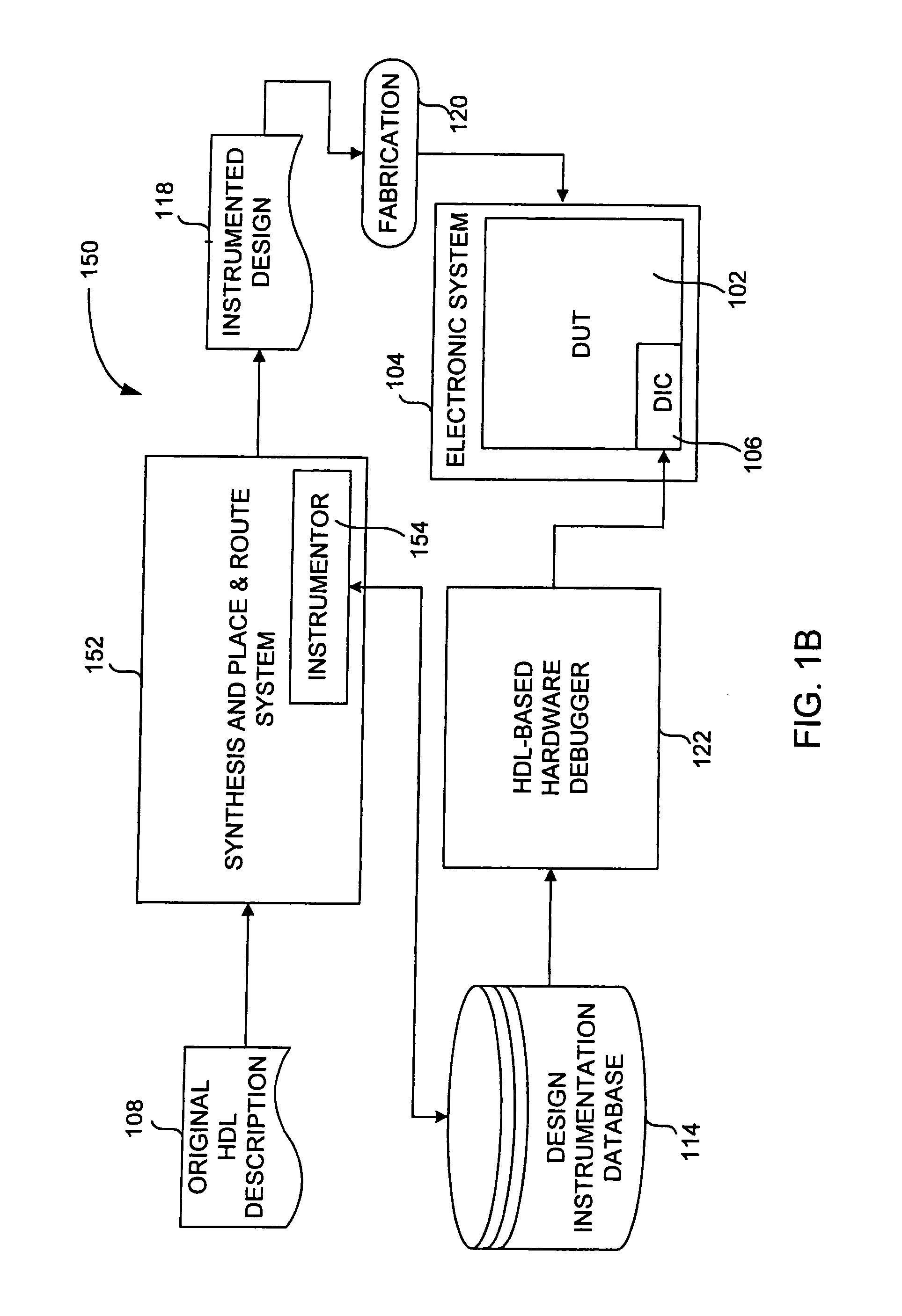 Patent Us7069526 Hardware Debugging In A Description Physical Target Block Diagram Photo Drawing