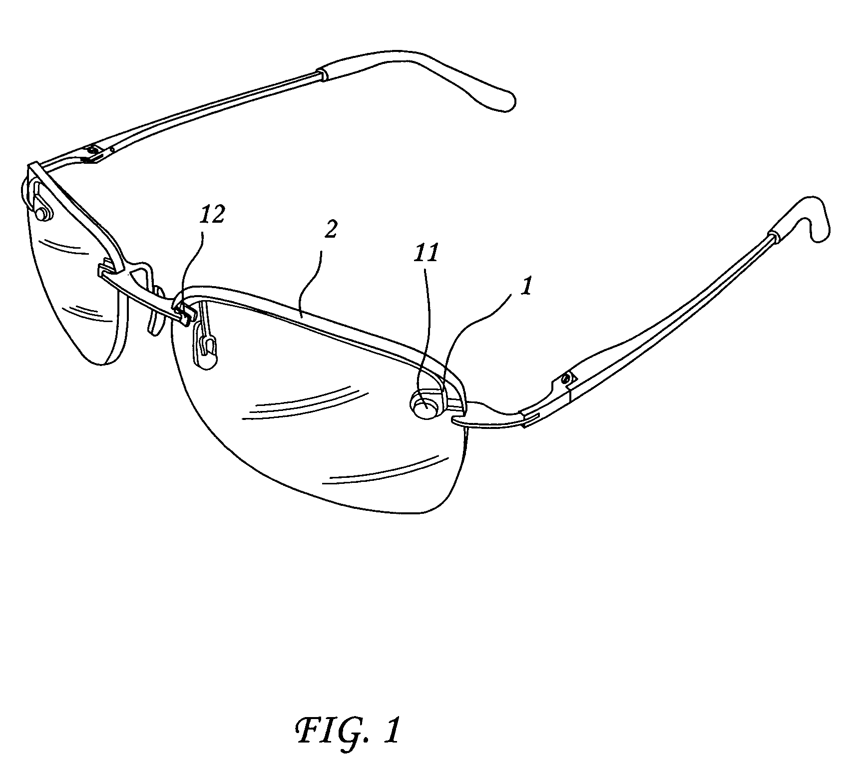 Patent US7070272 - Detachable eyeglass frame and aviator ...
