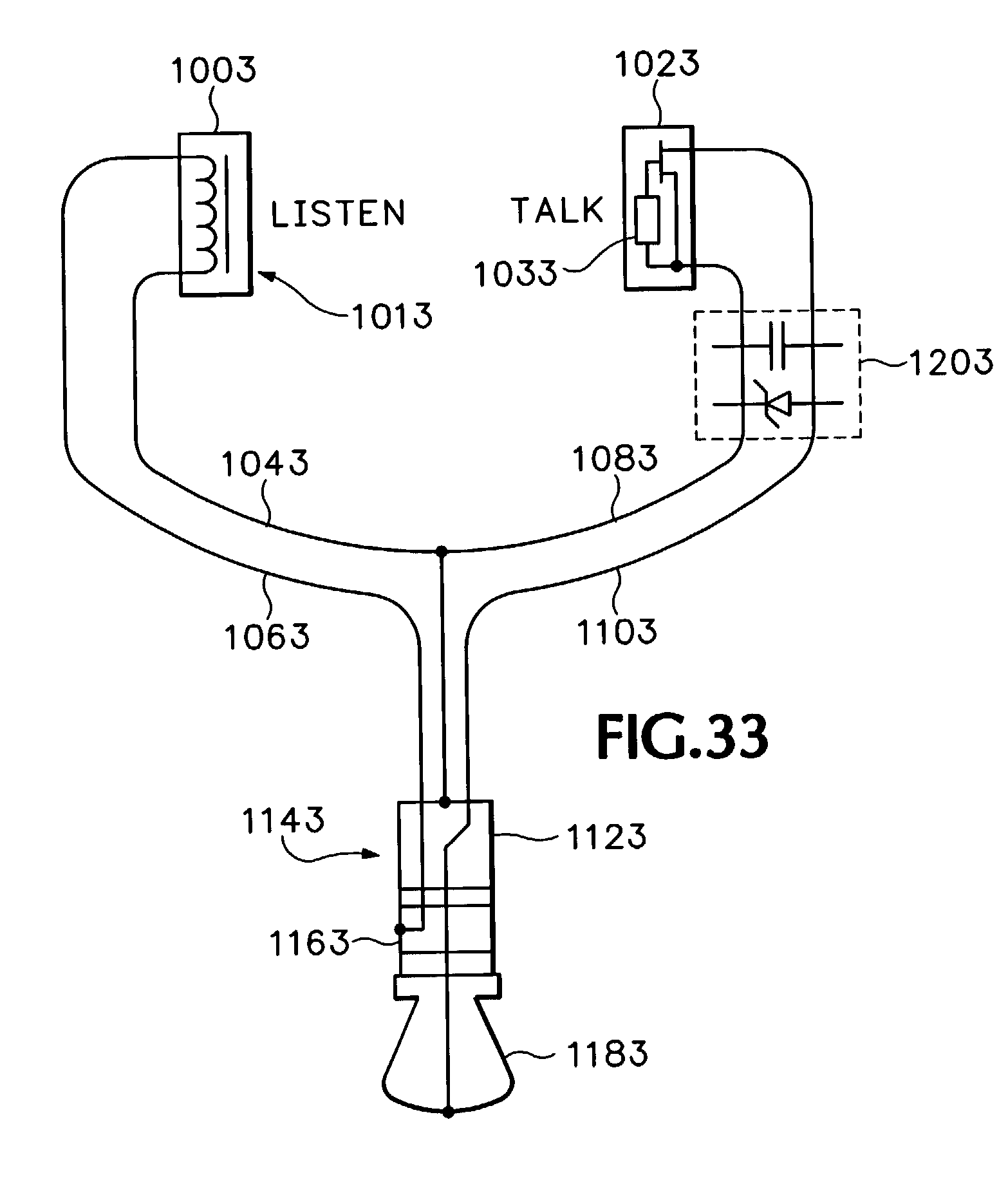 US07072476 20060704 D00023 patent us7072476 audio headset google patents plantronics headset wiring diagram at soozxer.org